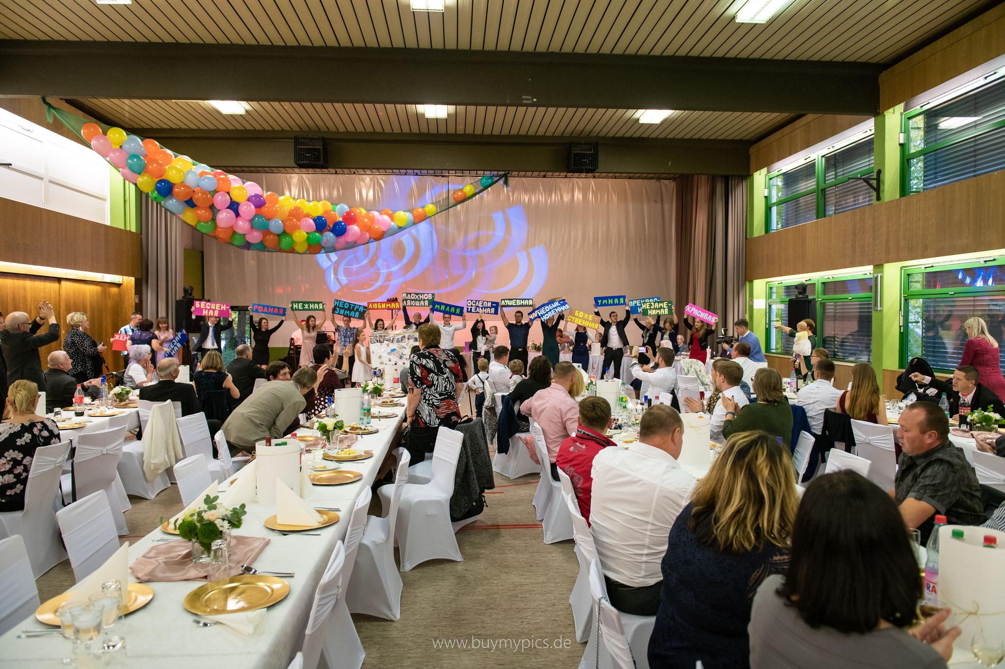 Professioneller Fotograf für russisches Jubiläum und Geburtstag in Greifenstein