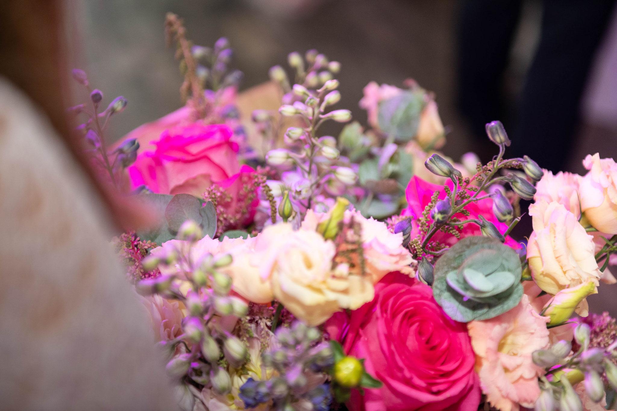 Dekorationen und Geschenke am Hochzeitstag