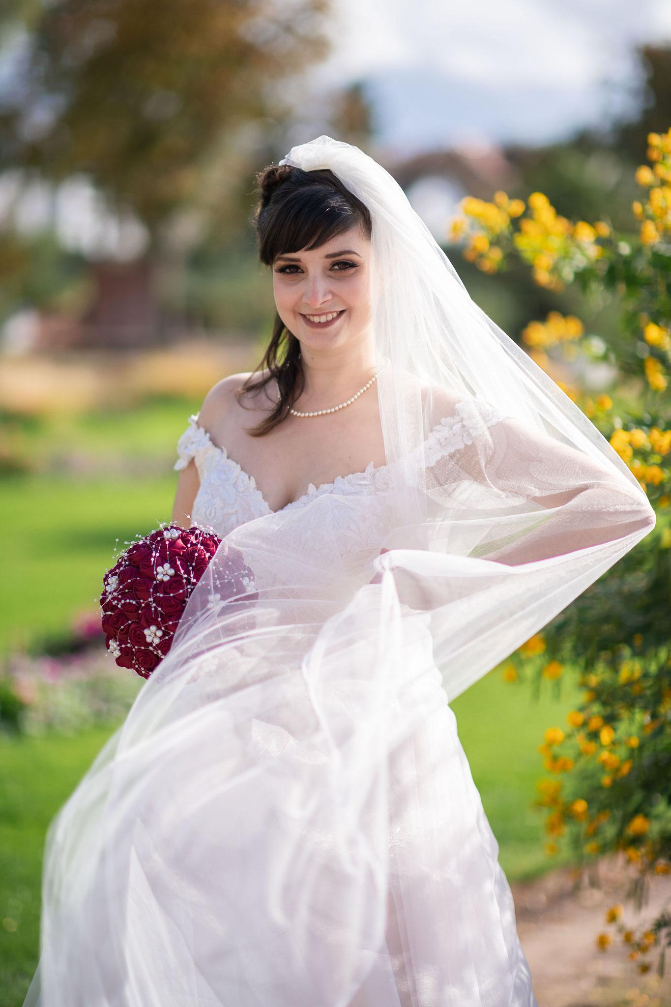 Aufnahmen mit der Braut oder dem Bräutigam alleine