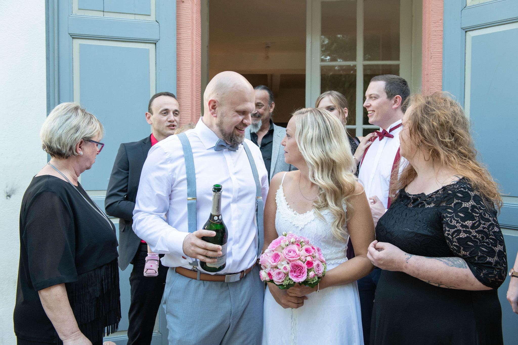 Auf zur Hochzeitsfeier