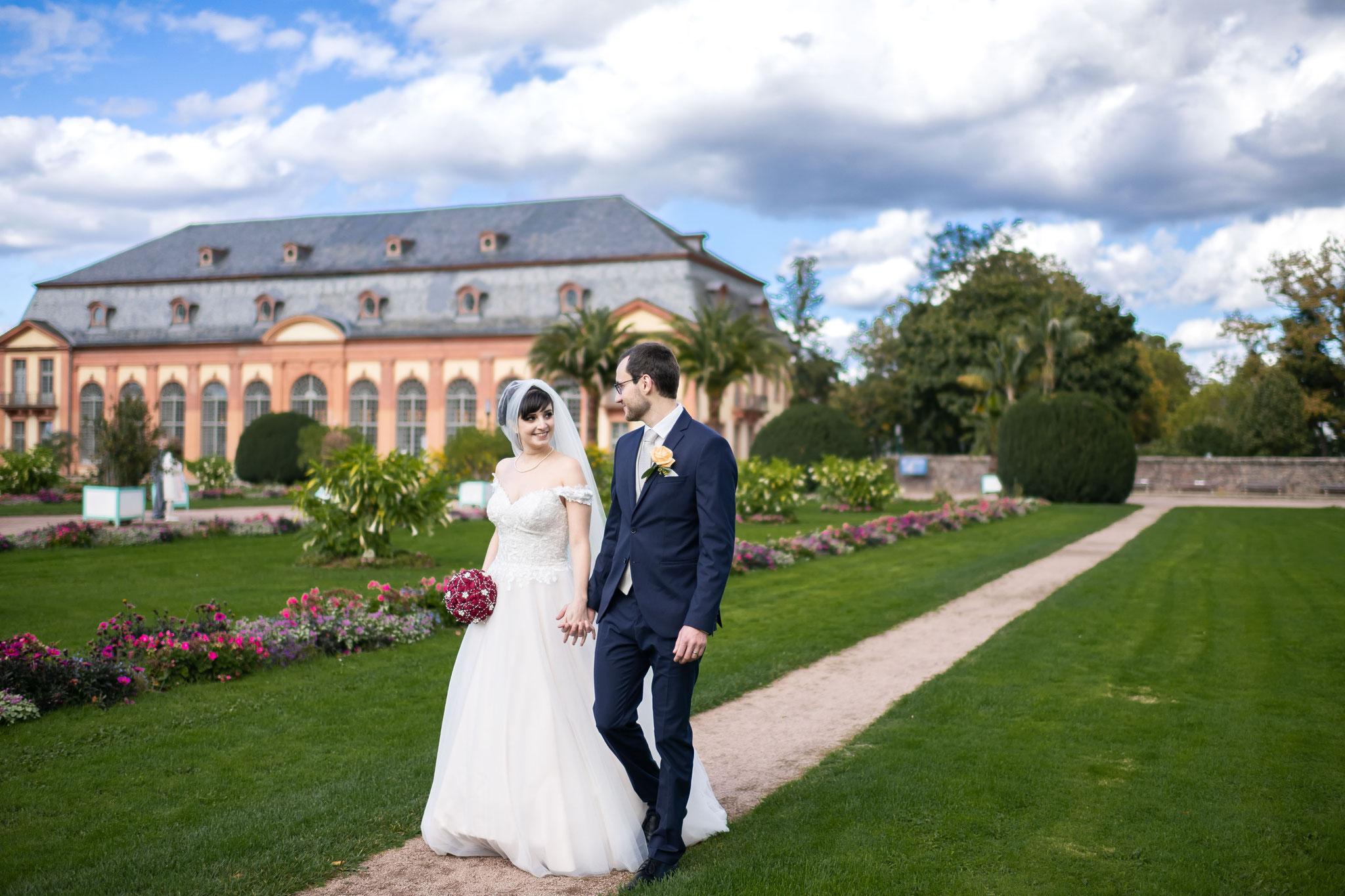 Ihr Fotograf und Filmmaker für Fotos und Videos in der Orangerie in Darmstadt