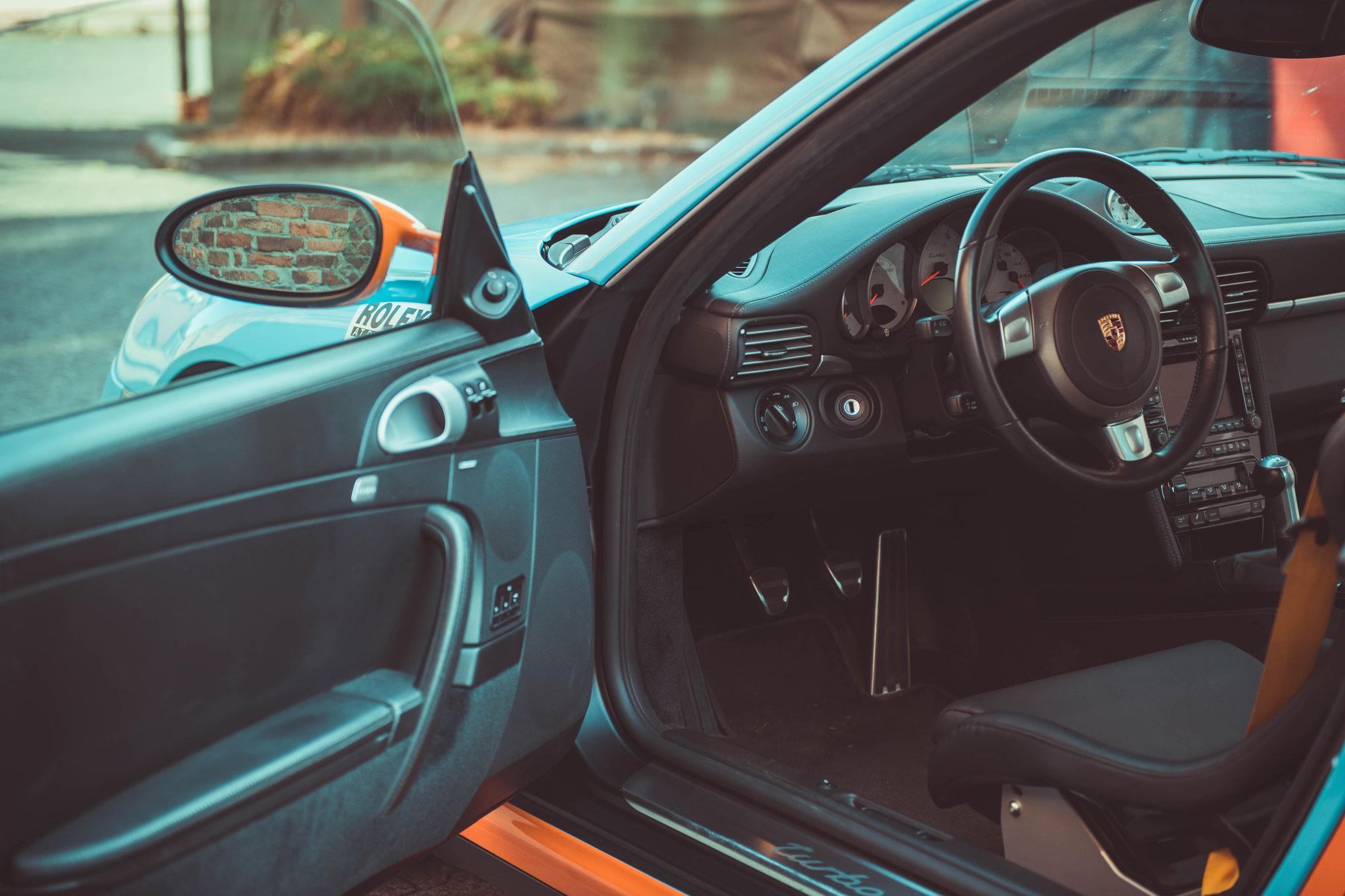 Porsche 997 Turbo Fahrerseite