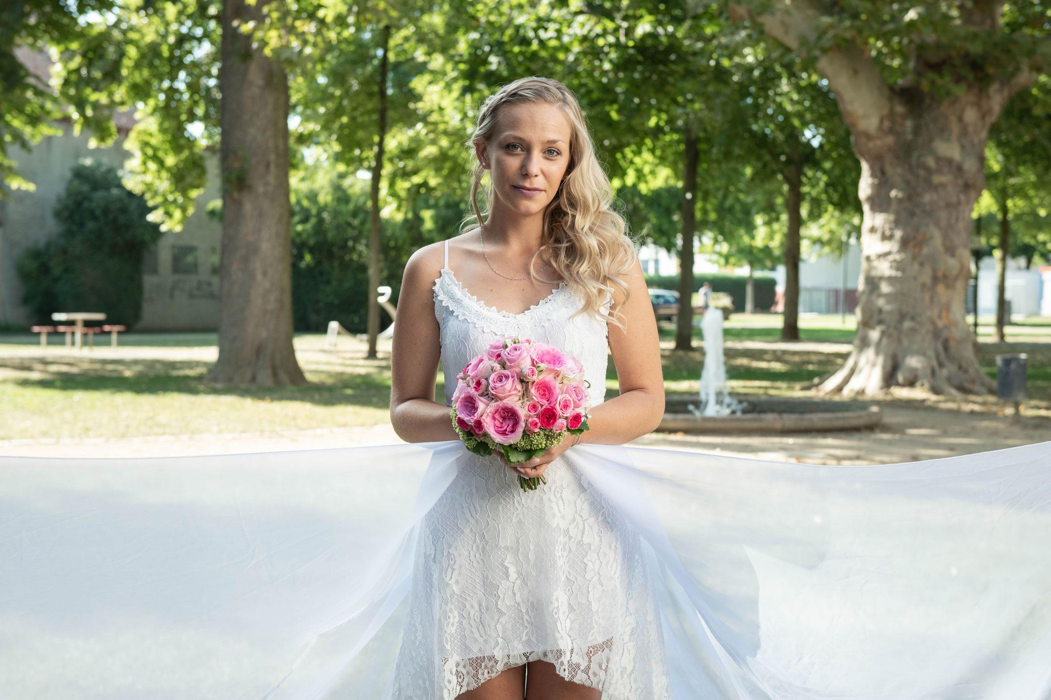 Braut im Park Reinheim