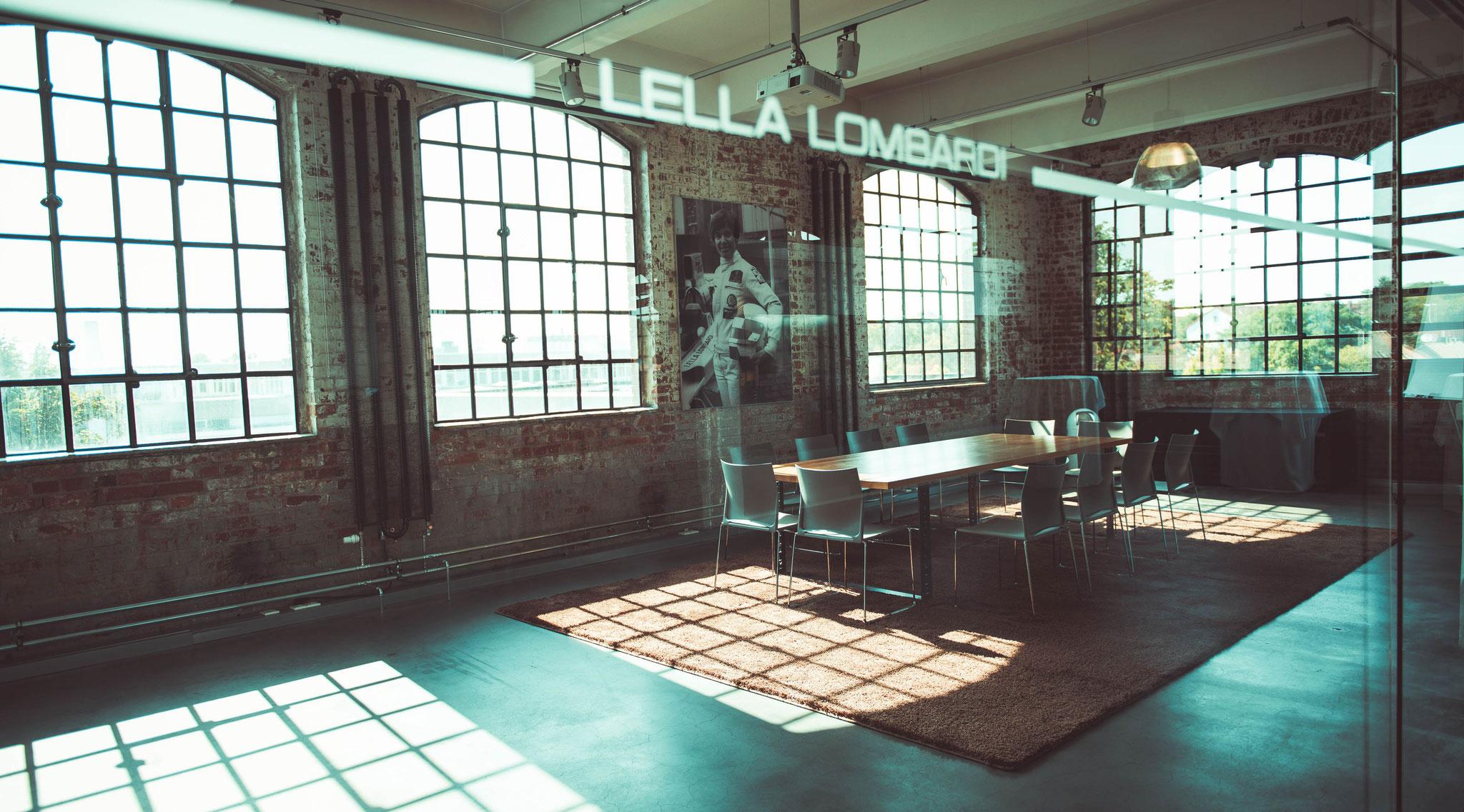 Lella Lombardi - Besprechungsraum