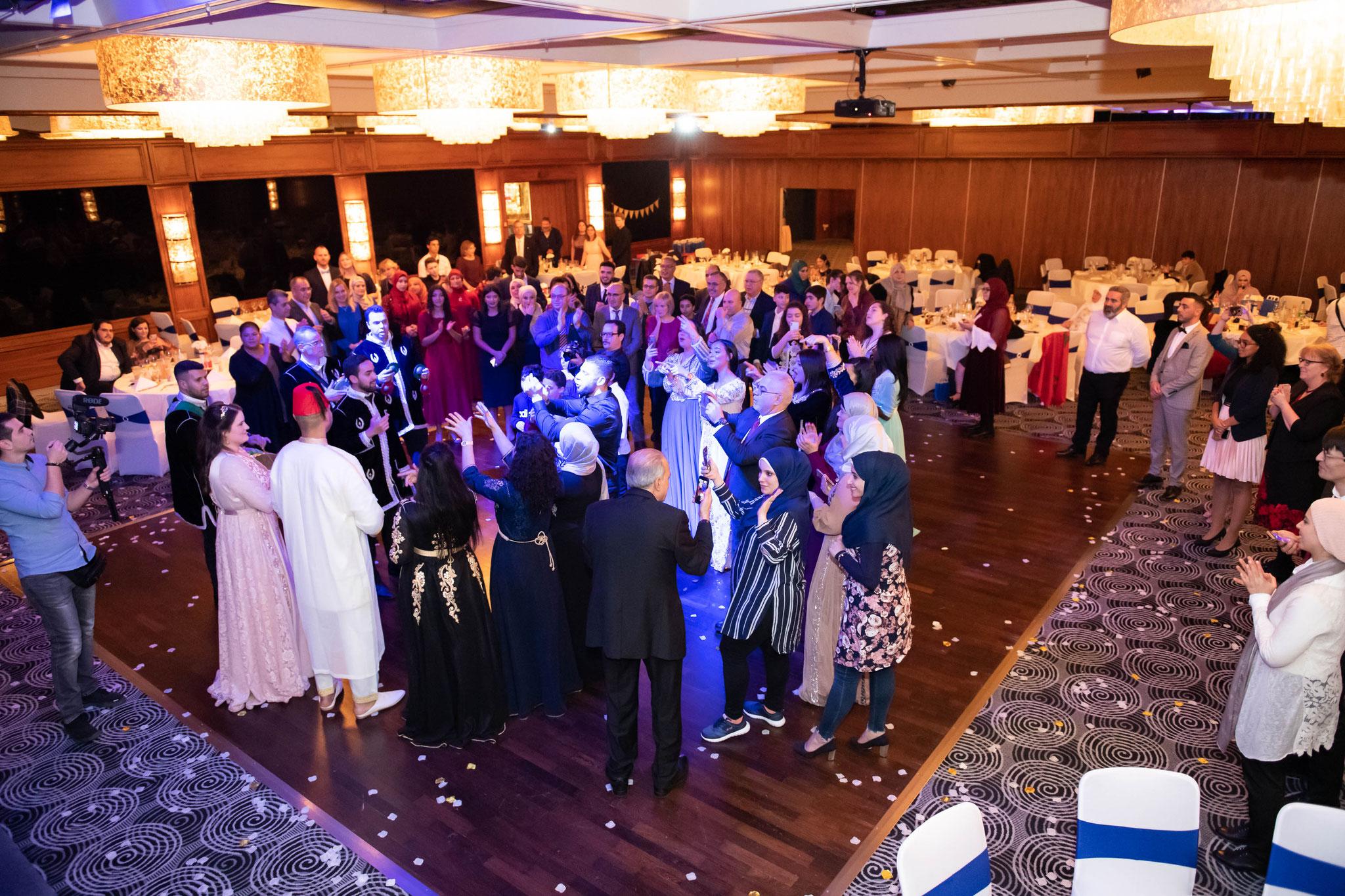 Kamerateam für internationale Hochzeiten und Events
