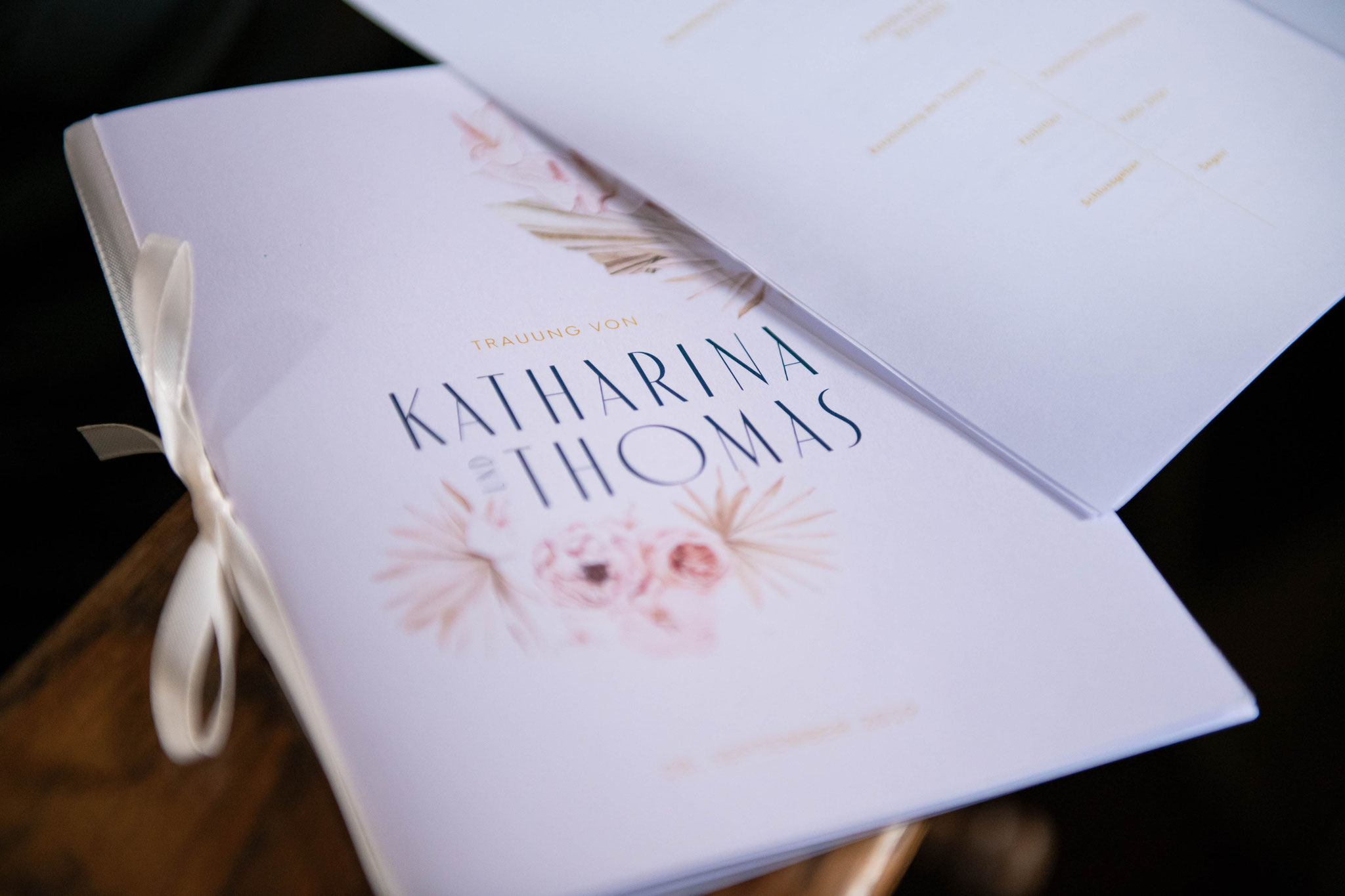 Einladungskarten zur Hochzeit