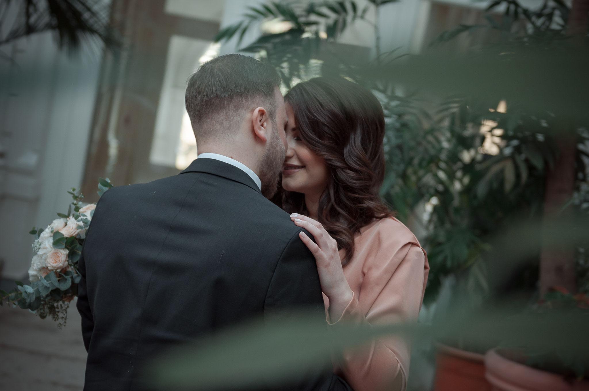 Love-Story Fotografie im Palmengarten