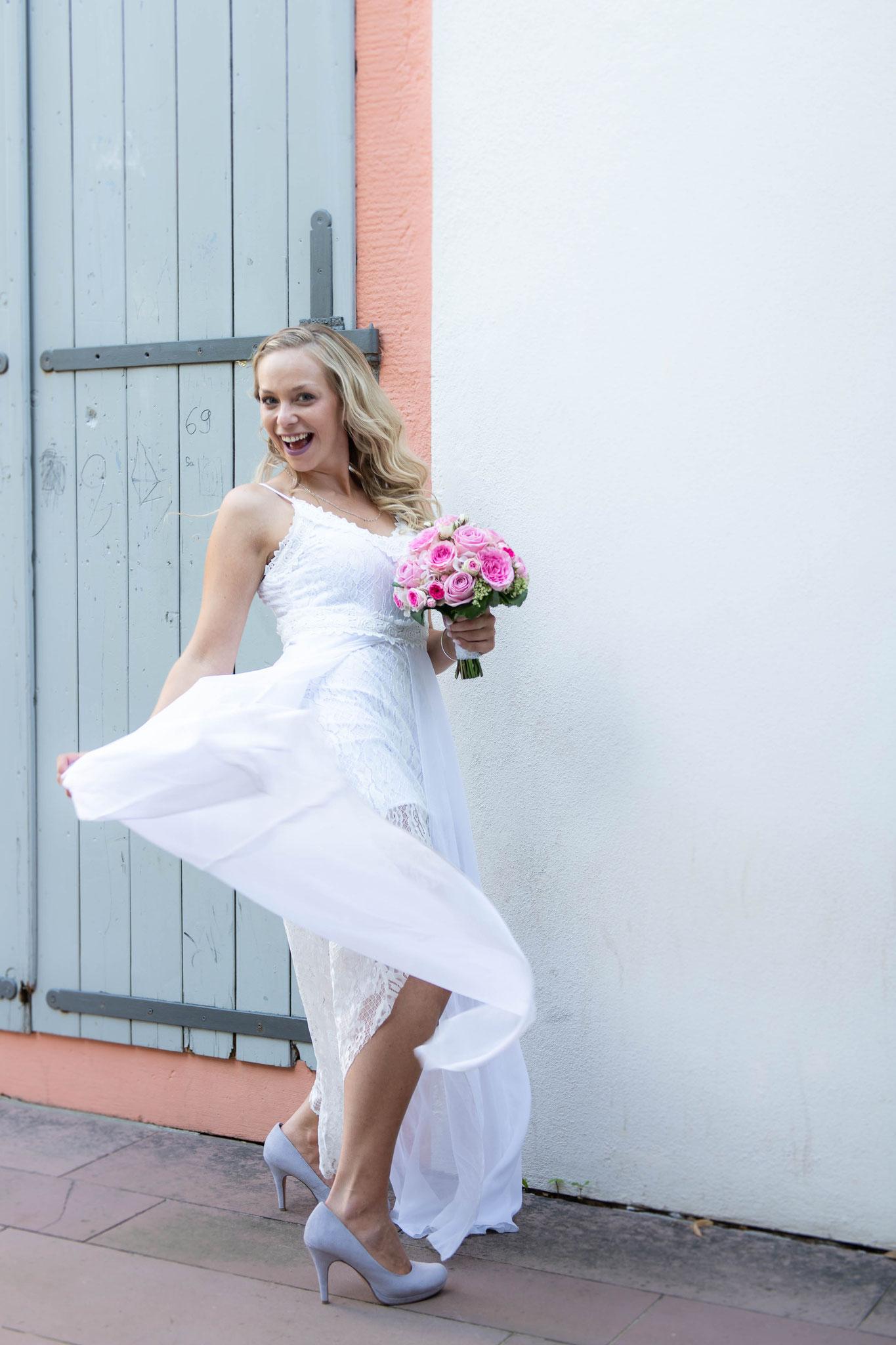 Oh la la so muss eine Braut aussehen