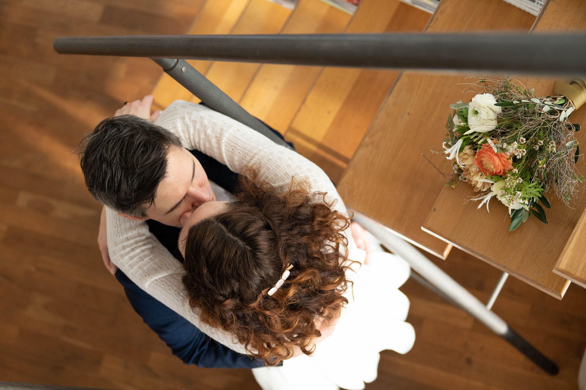 Brautpaar Shooting modern und zeitlos