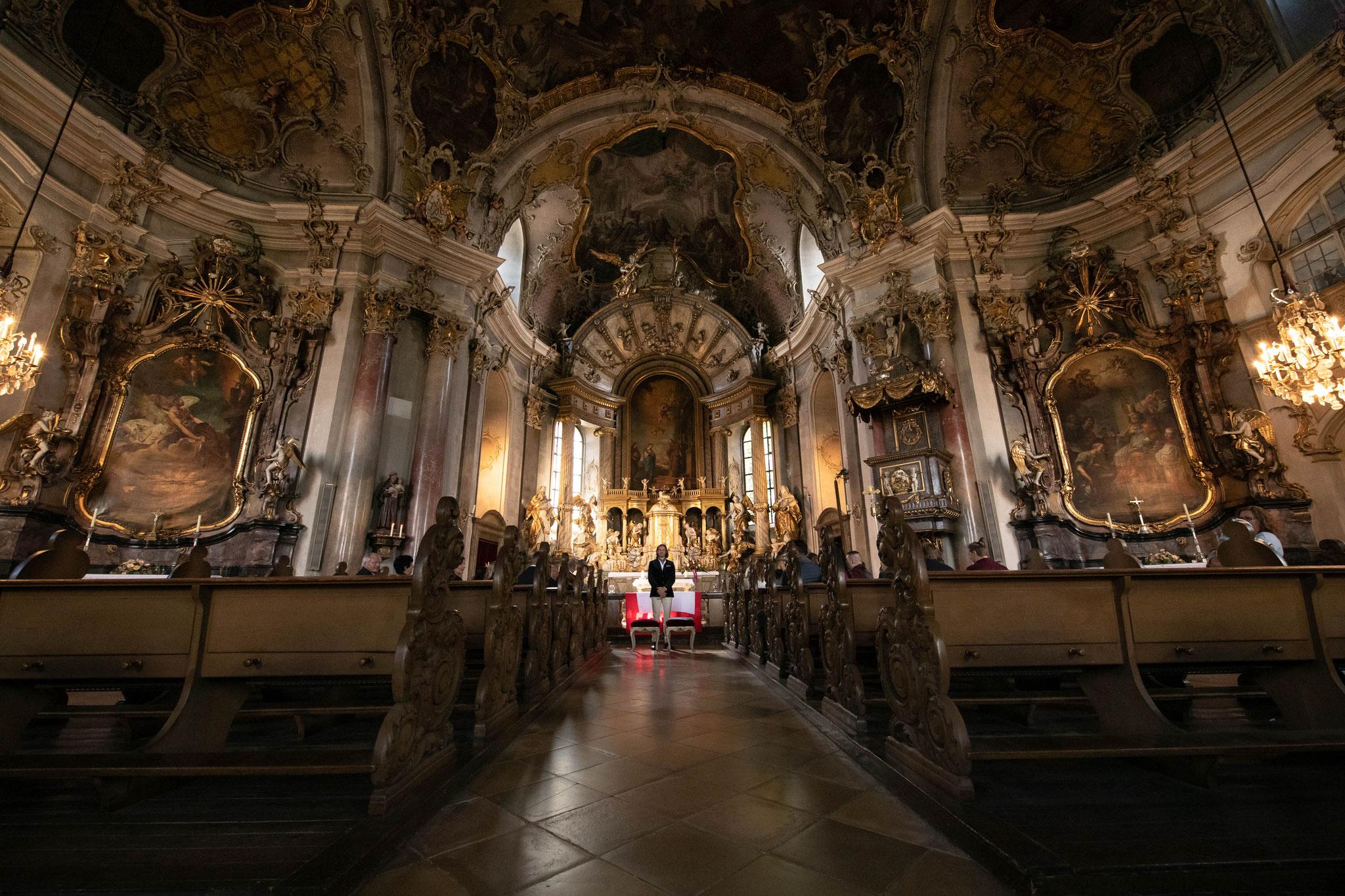 Trauung in der Wallfahrtskirche Käppele in Würzburg
