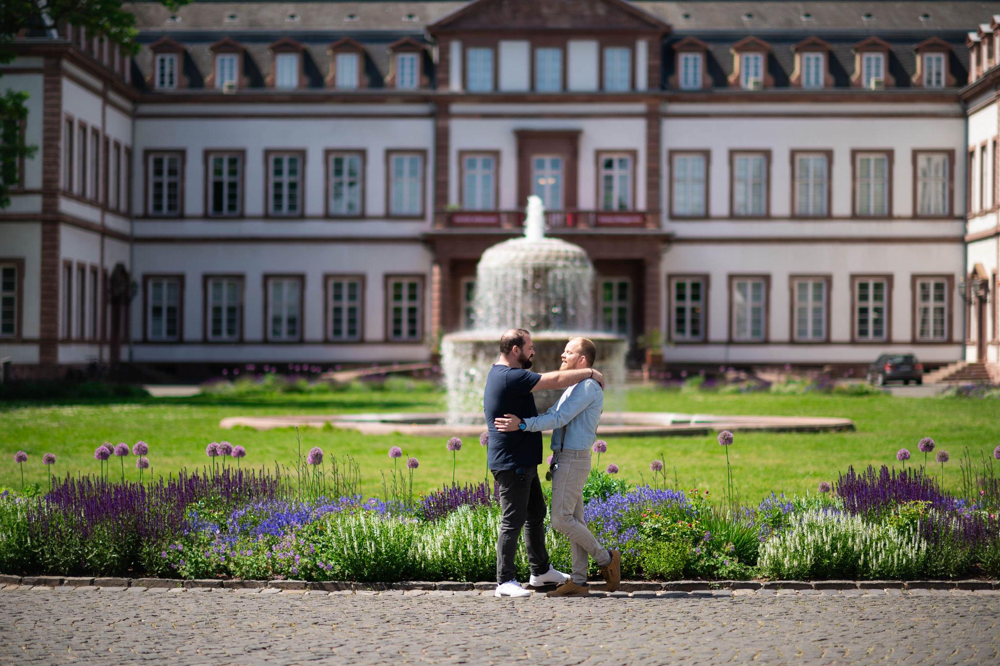 Paaraufnahmen im Schlosspark Hanau und Umgebung