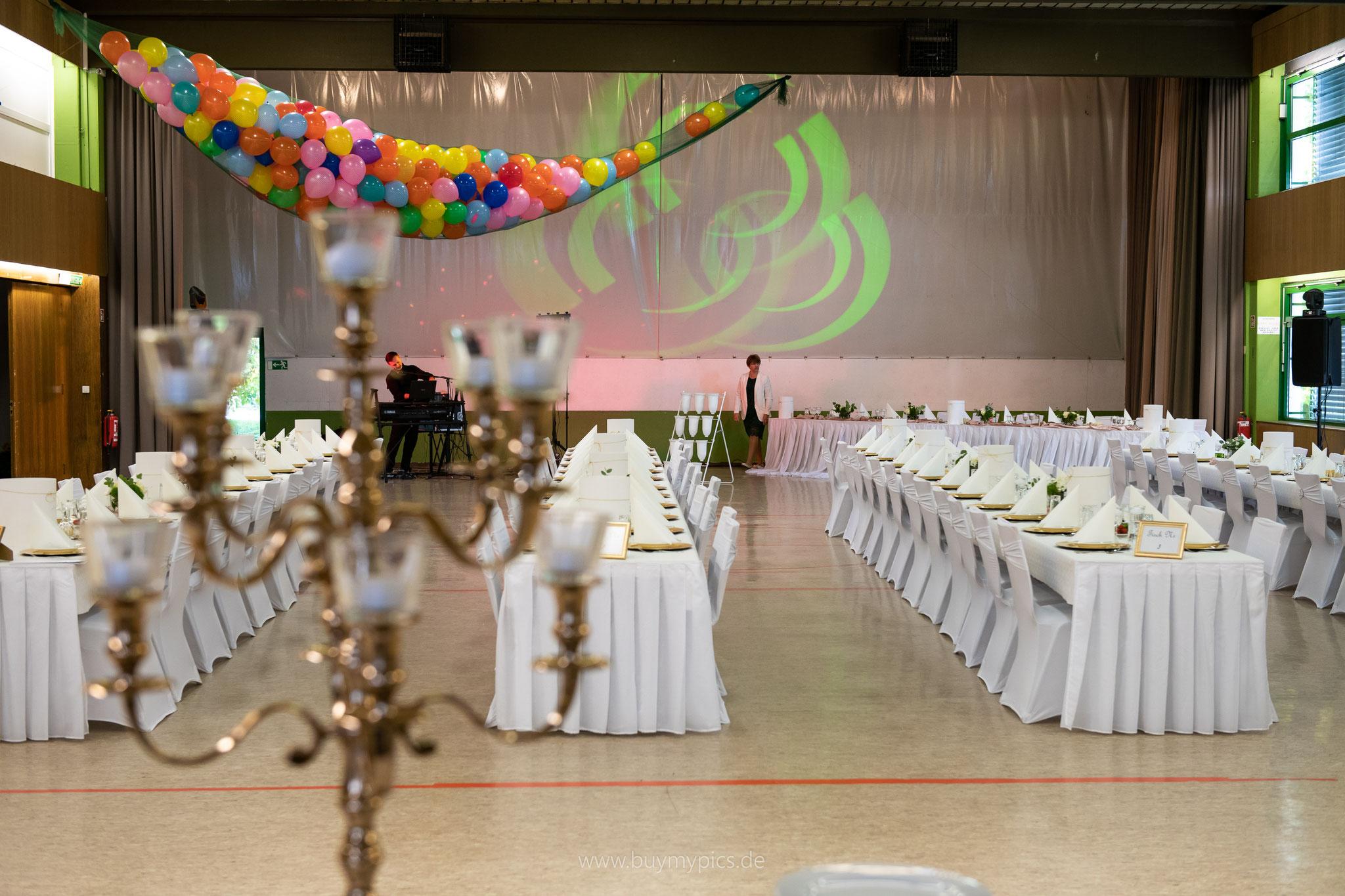 Ulmtalhalle in Greifenstein für Feste und große Anlässe