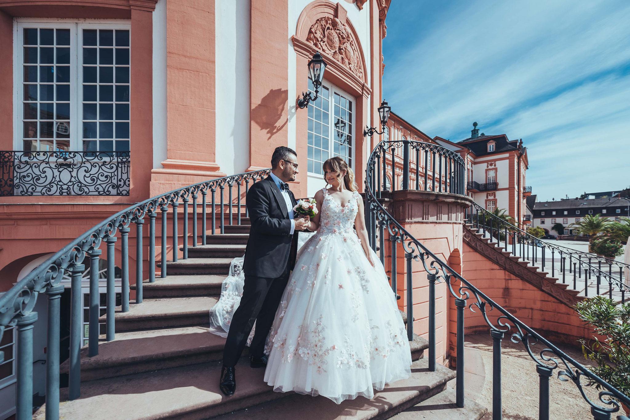 Afterwedding Aufnahmen in Wiesbaden, Frankfurt, Darmstadt und Umgebung