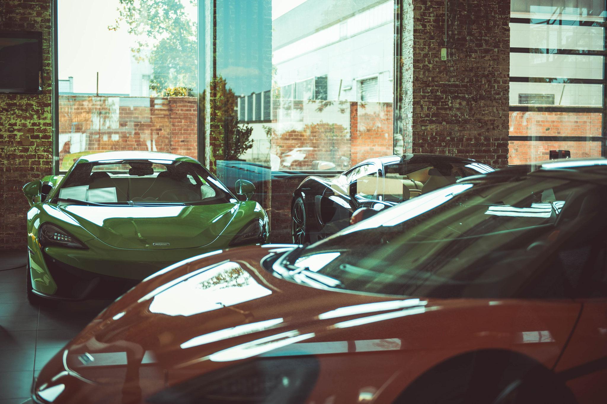 Bugatti und Lamborghini Autohaus in Frnakfurt