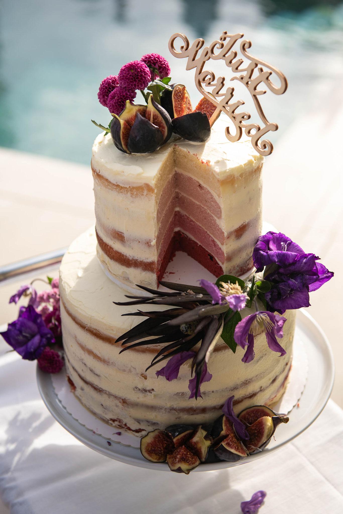 Perfekte Aufnahmen Ihrer Hochzeitstorte
