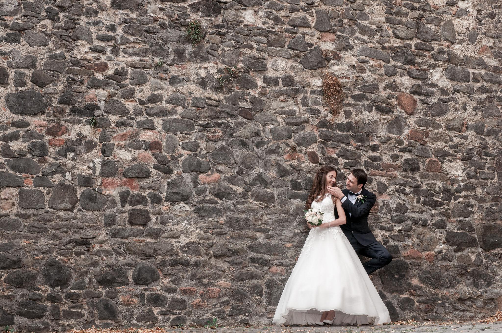 Brautpaar-Shooting in Frankfurt Höchst am Main