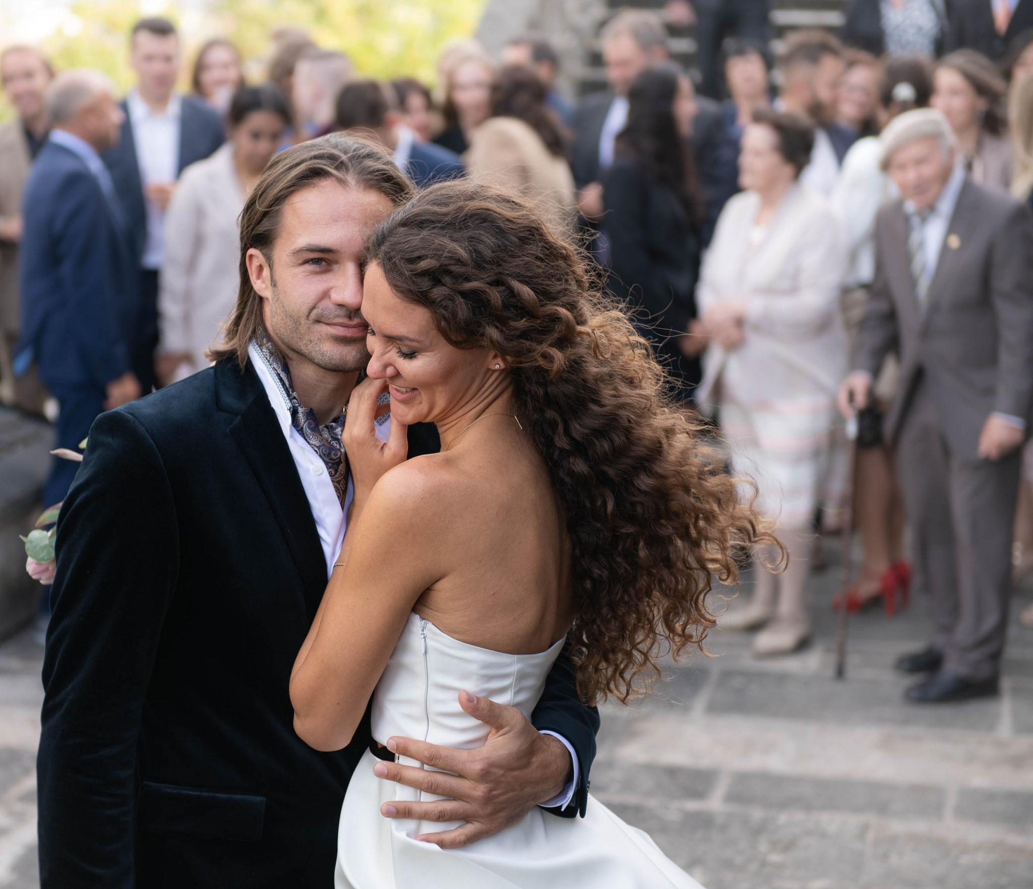 Professionelle Brautpaar Aufnahmen nach dem Standesamt oder kirchlichen Trauung in Würzburg