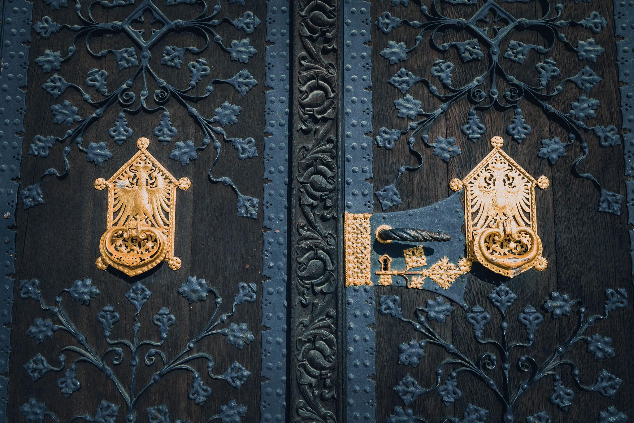 Die Türen zum Standesamt