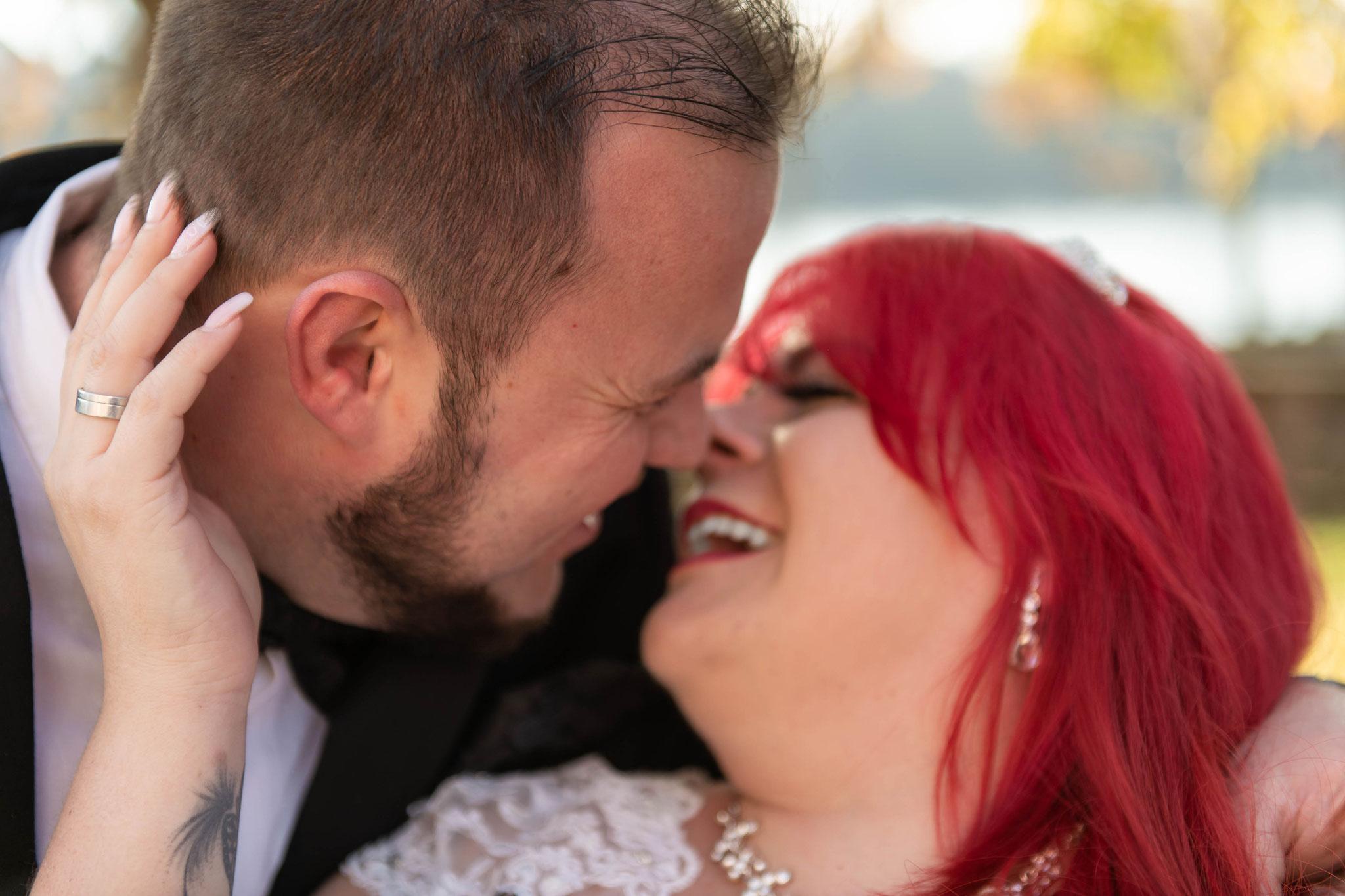 Foto und Video Aufnahmen von Paaren vor und nach der Hochzeit