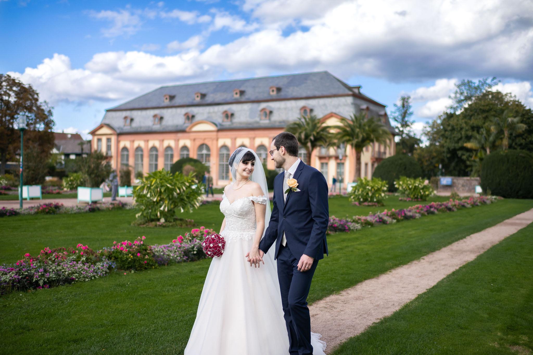 Professioneller Fotograf und Filmemacher für Fotos und Videos in der Orangerie in Darmstadt