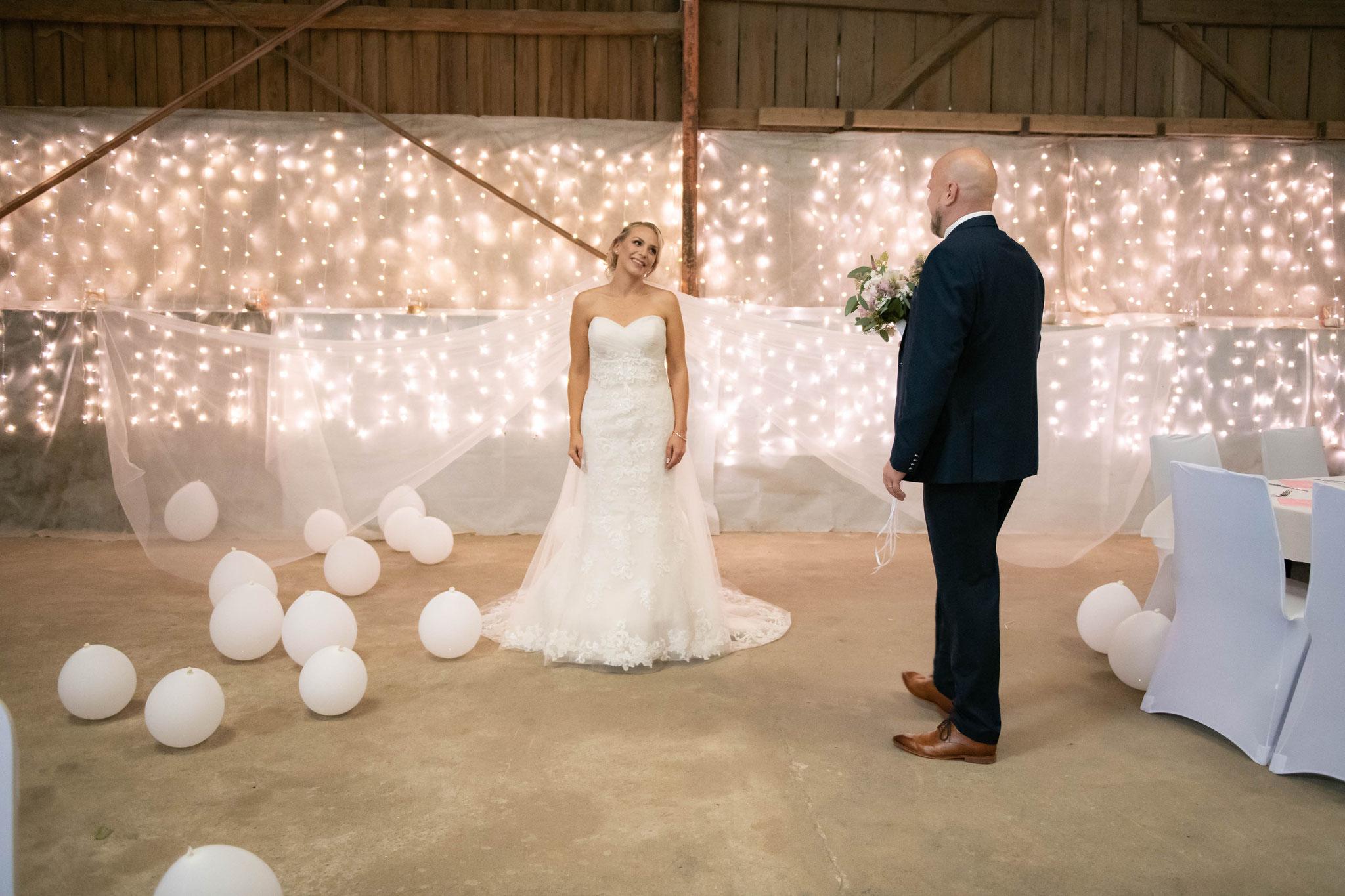 Fotos mit dem Bräutigam und der Braut