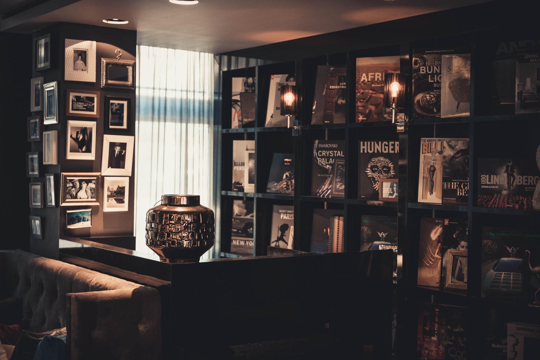 Dekoration im Roomers Hotel Frankfurt