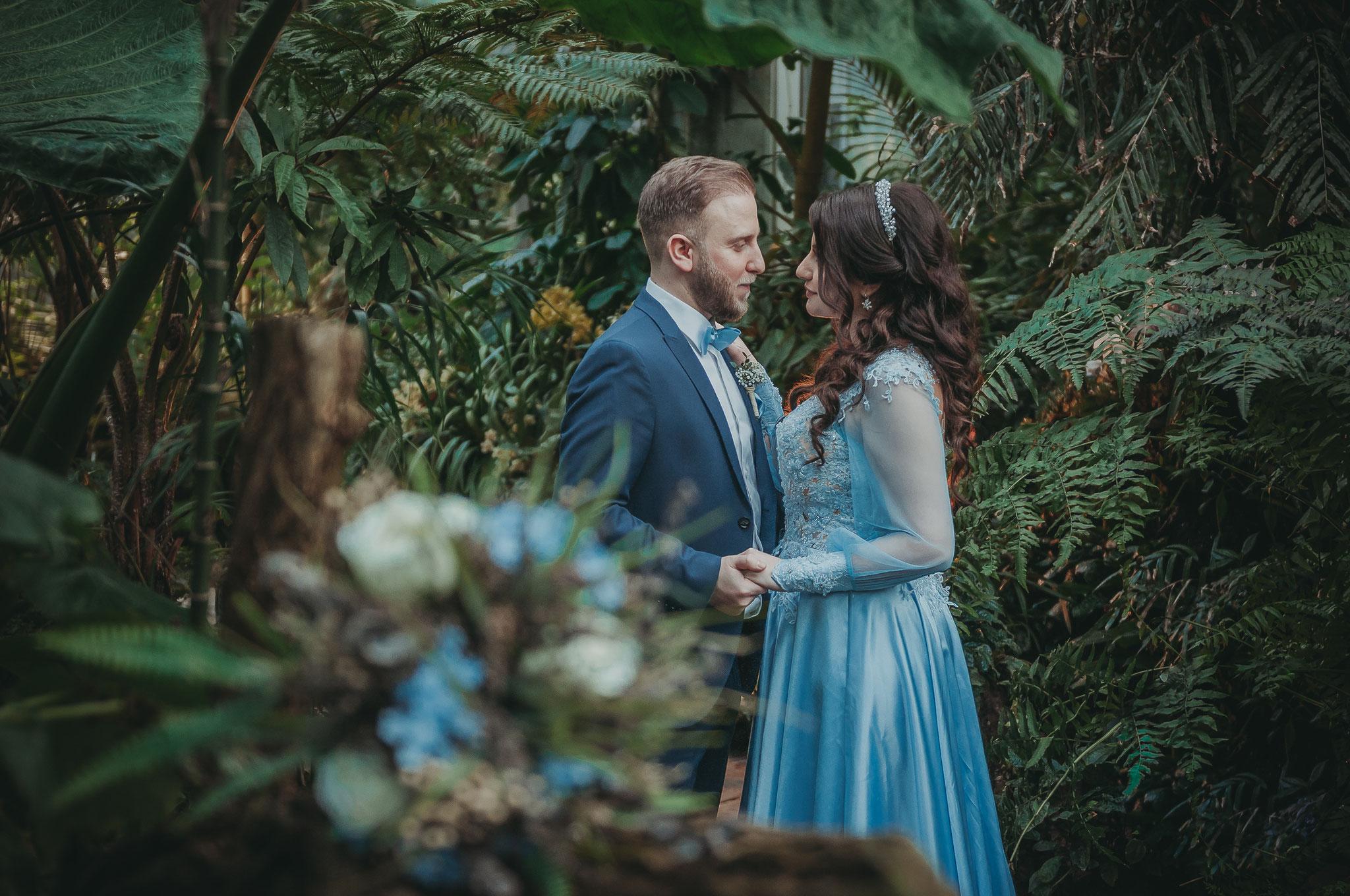 Paaraufnahmen  wie im Jungle