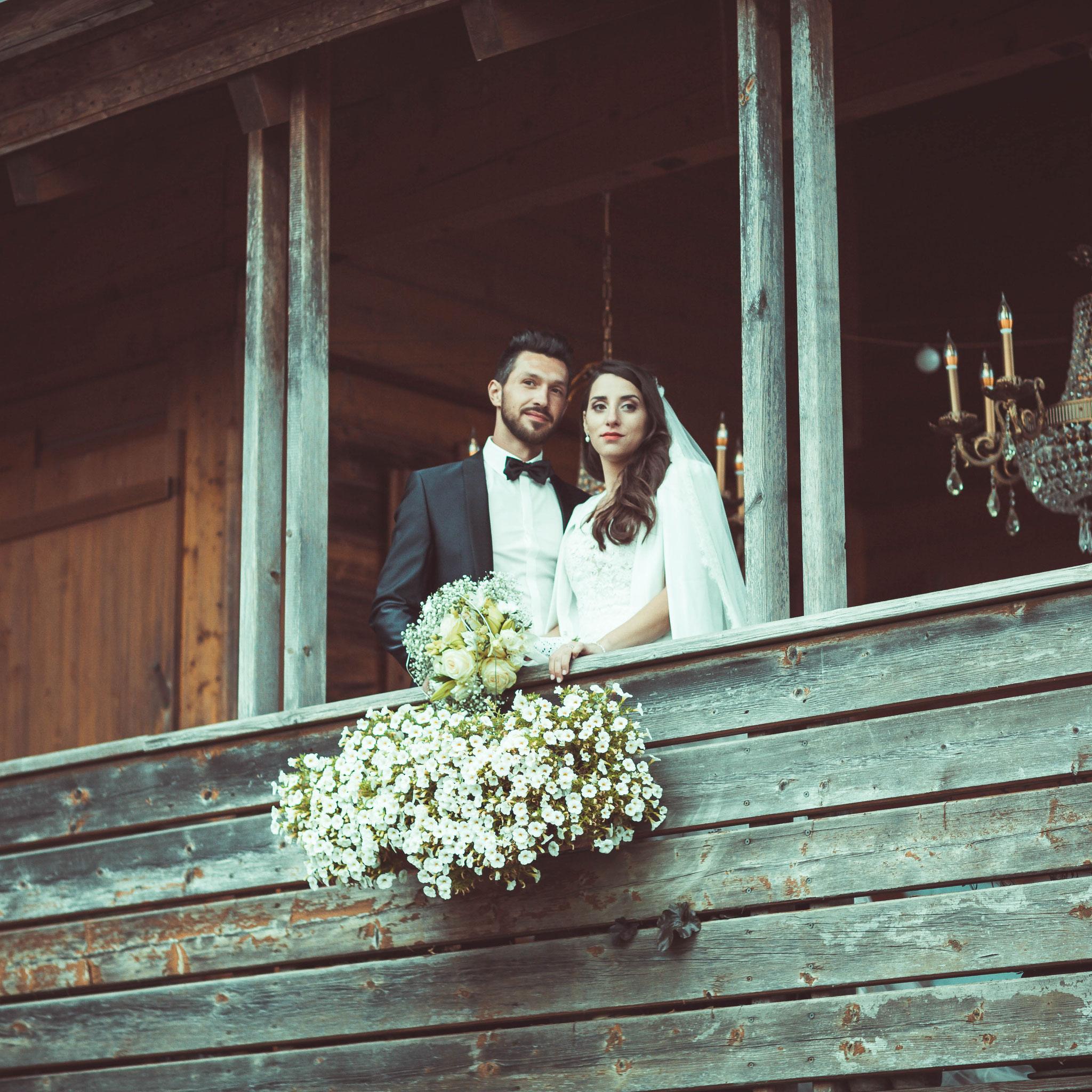 Kameramann für moderne russische Hochzeit in Bingen am Rhein