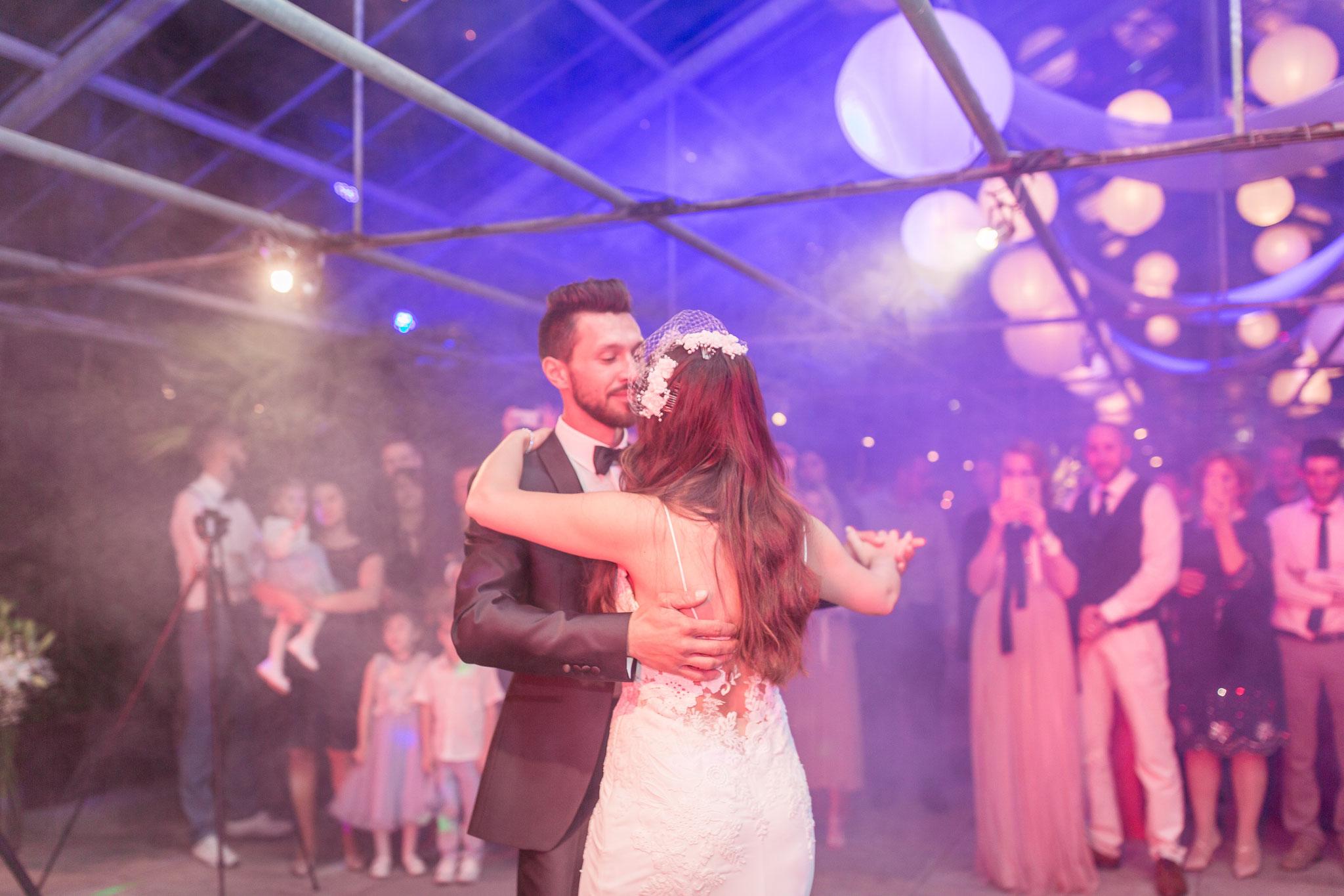 Fotos von der Hochzeitsfeier in der Location