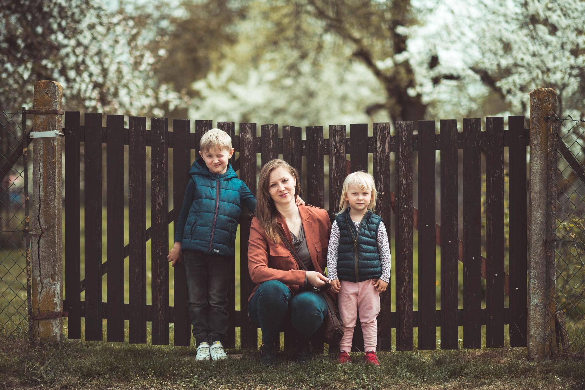Familienaufnahmen und Gruppenfotos in Frankfurt, Friedrichsdorf und Umgebung
