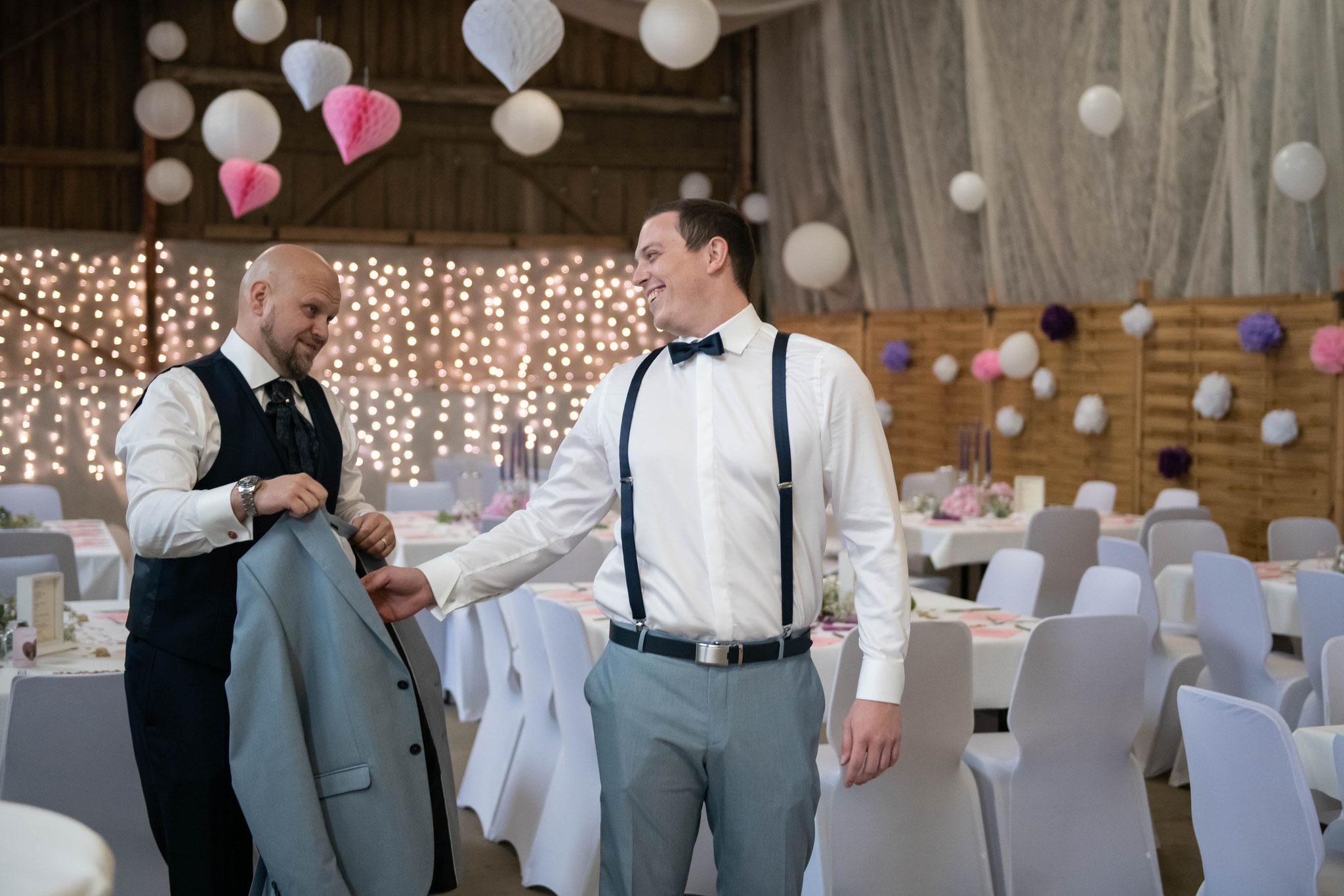 Bräutigam sorgt sich um seinen Trauzeugen