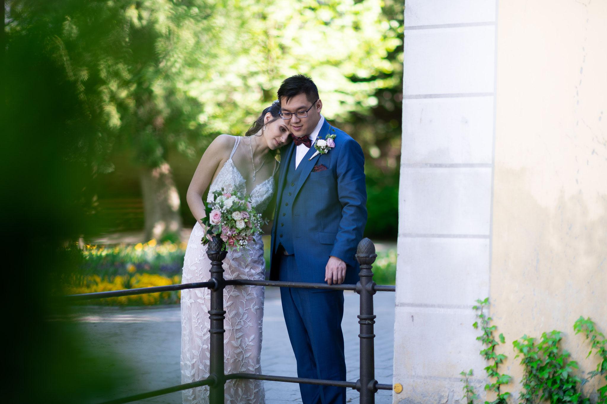 Meine Hochzeit vom Hochzeitsfotografen fotografieren lassen