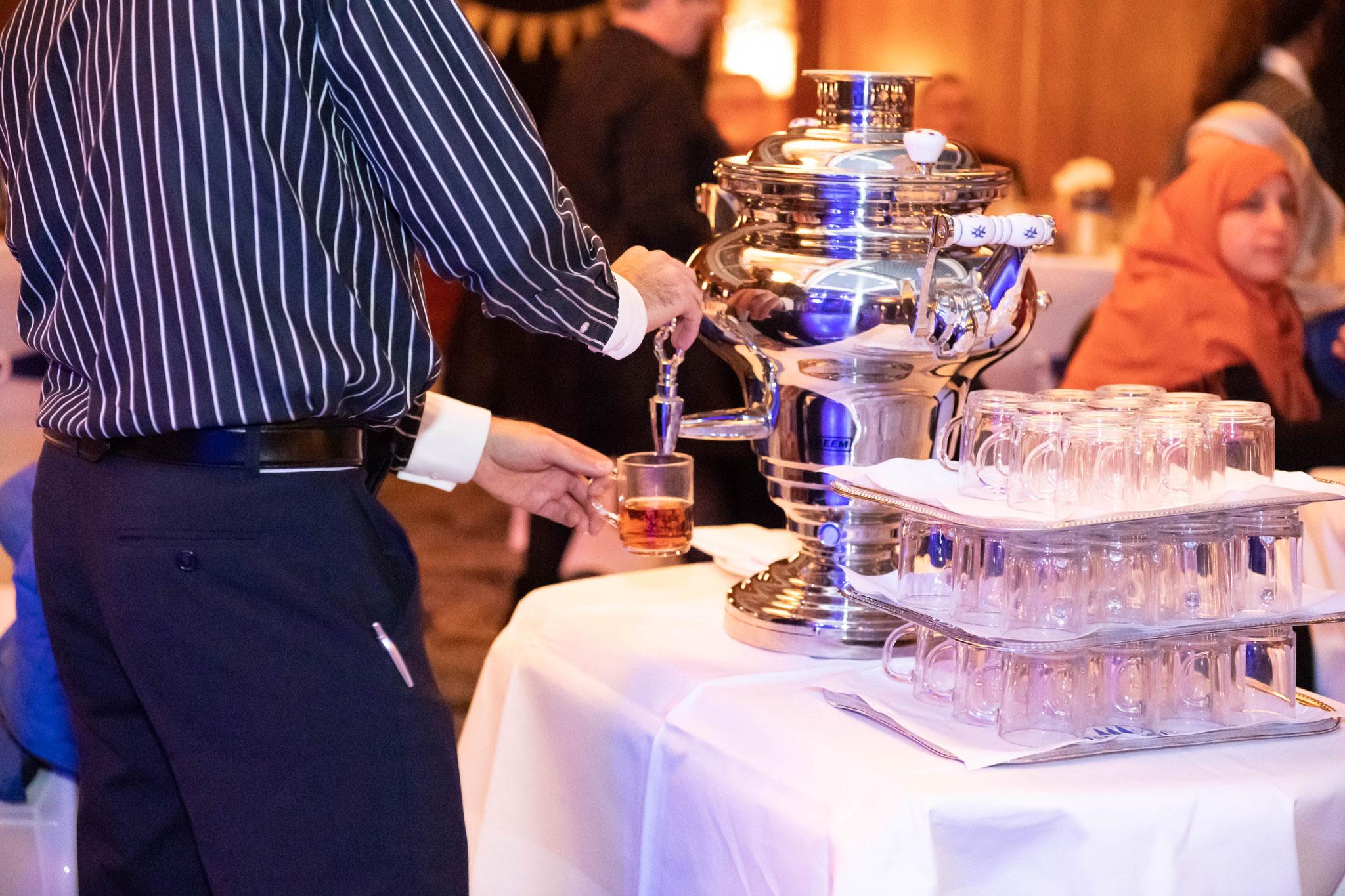 Für jeden Gast ein Tee