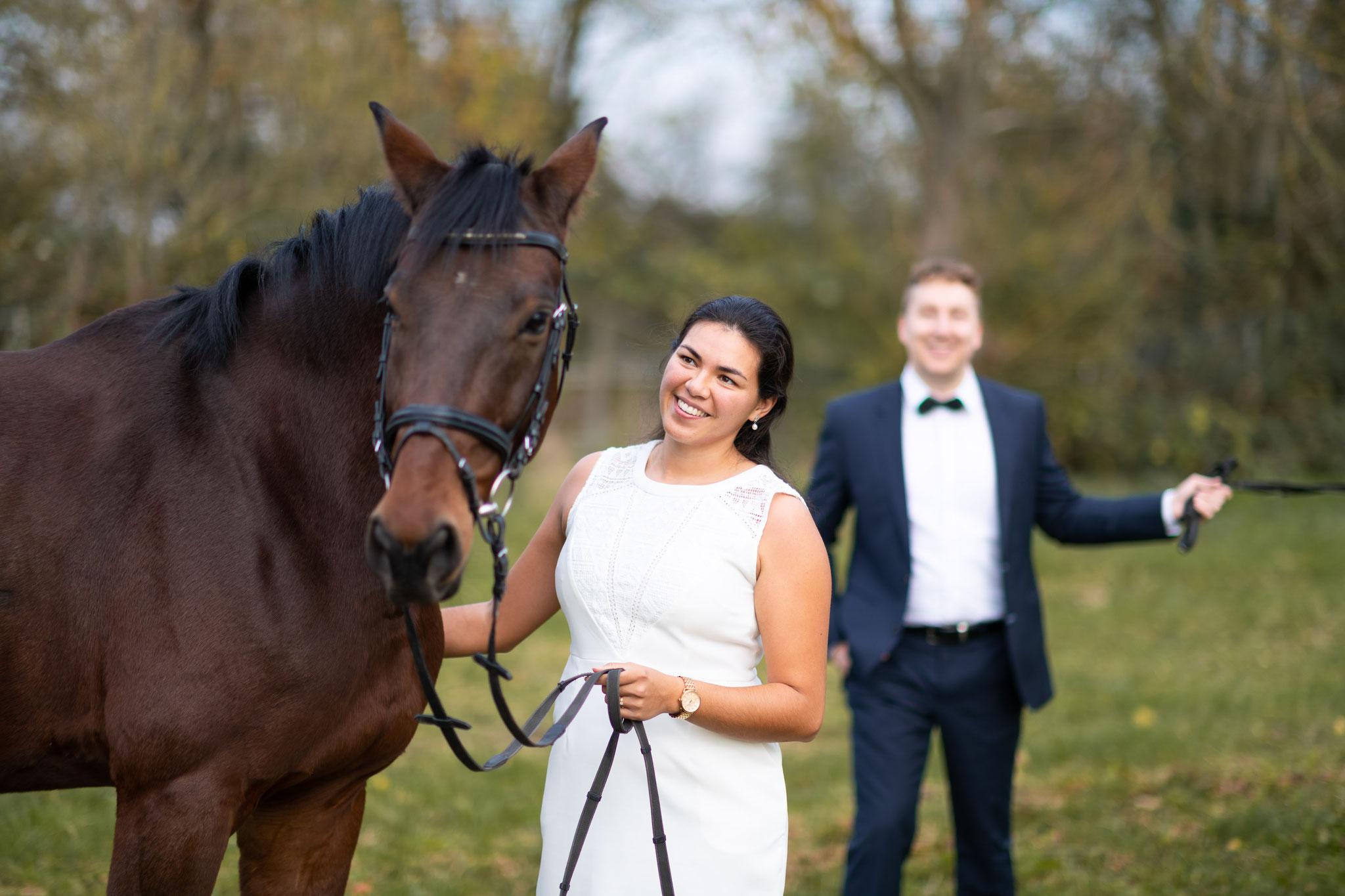 Kennenlern-Shooting vor der Hochzeit