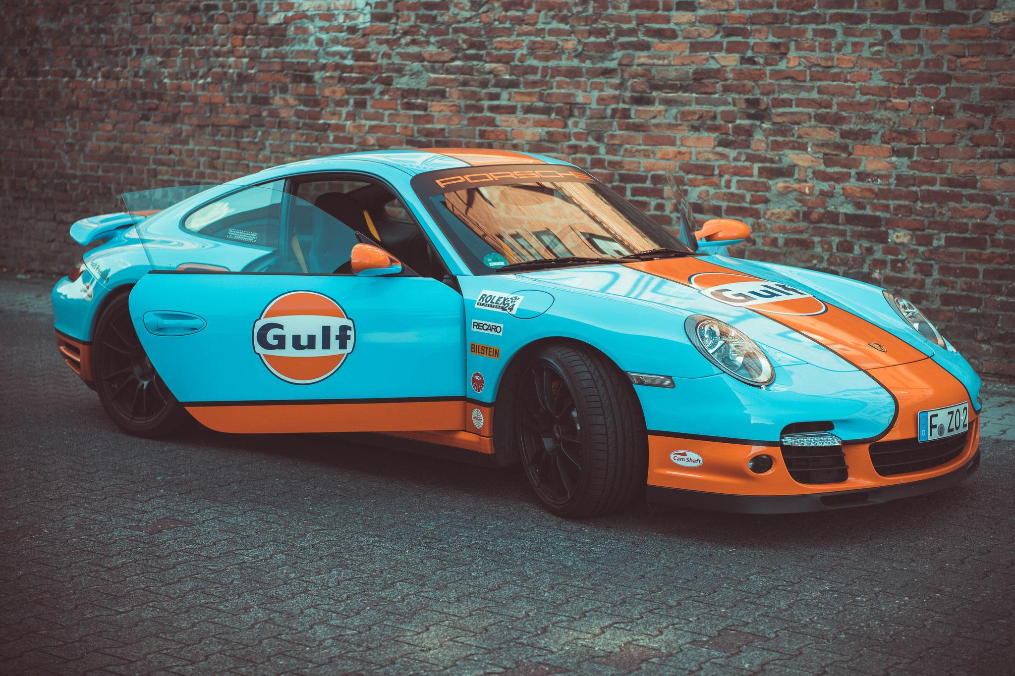 Porsche 997 Turbo Wurde von der Firma 9ff getuned