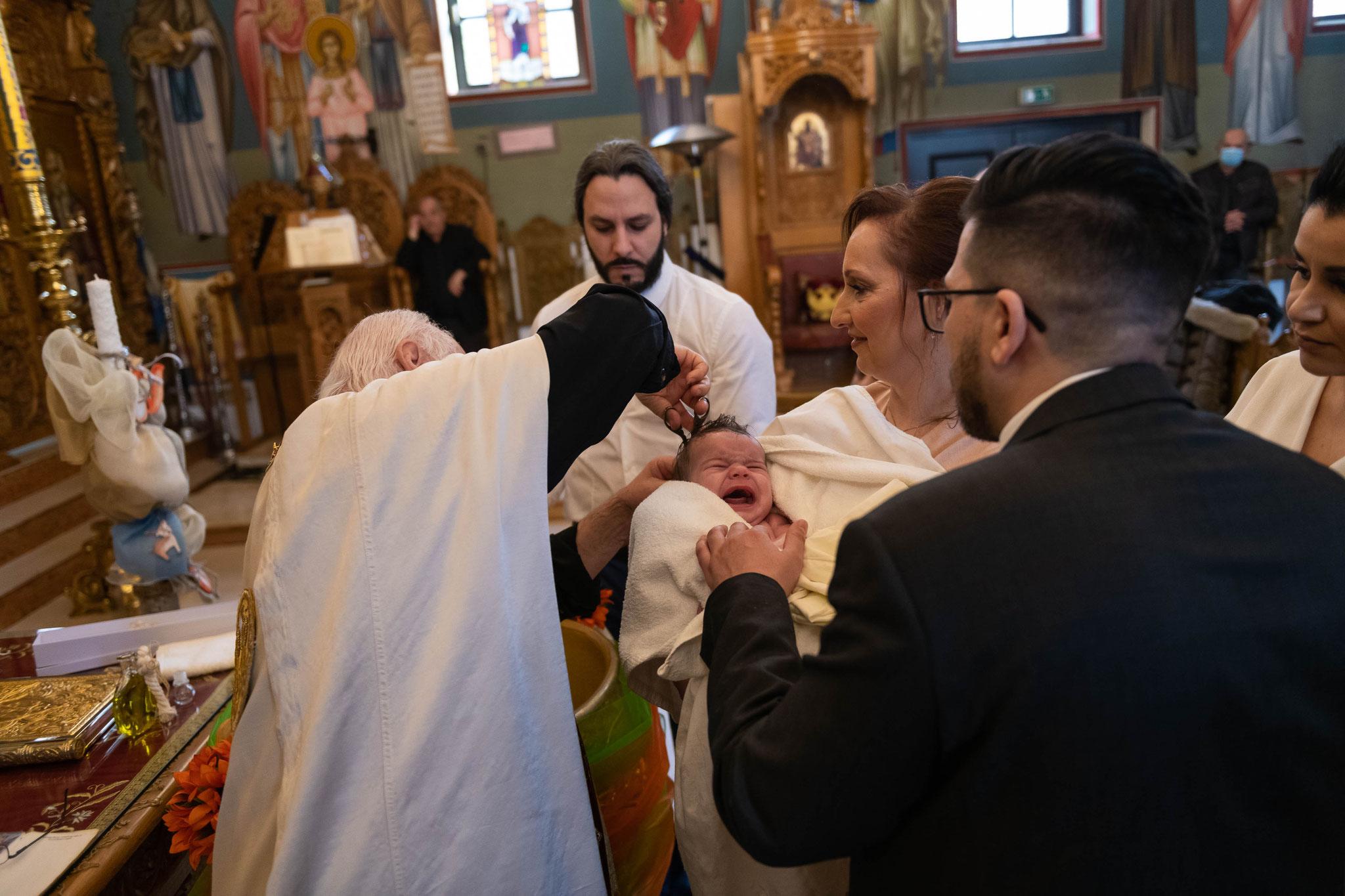 Fotograf für griechische orthodoxe Taufe in Wiesbaden und Umgebung