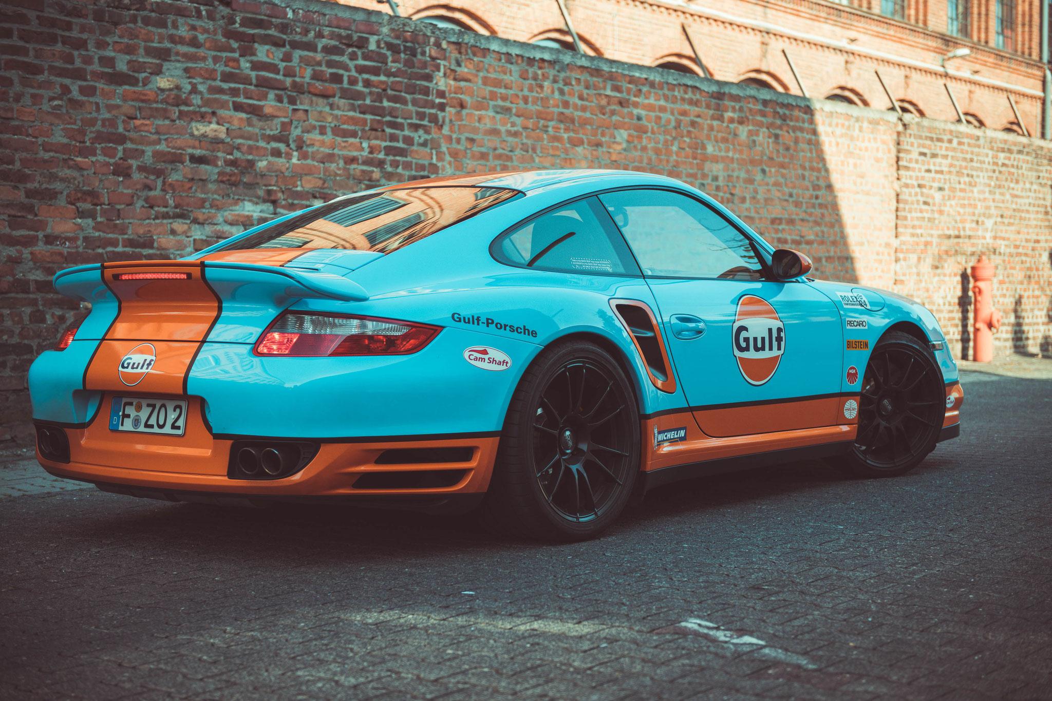 Porsche 997 Turbo Ladeluftkühler