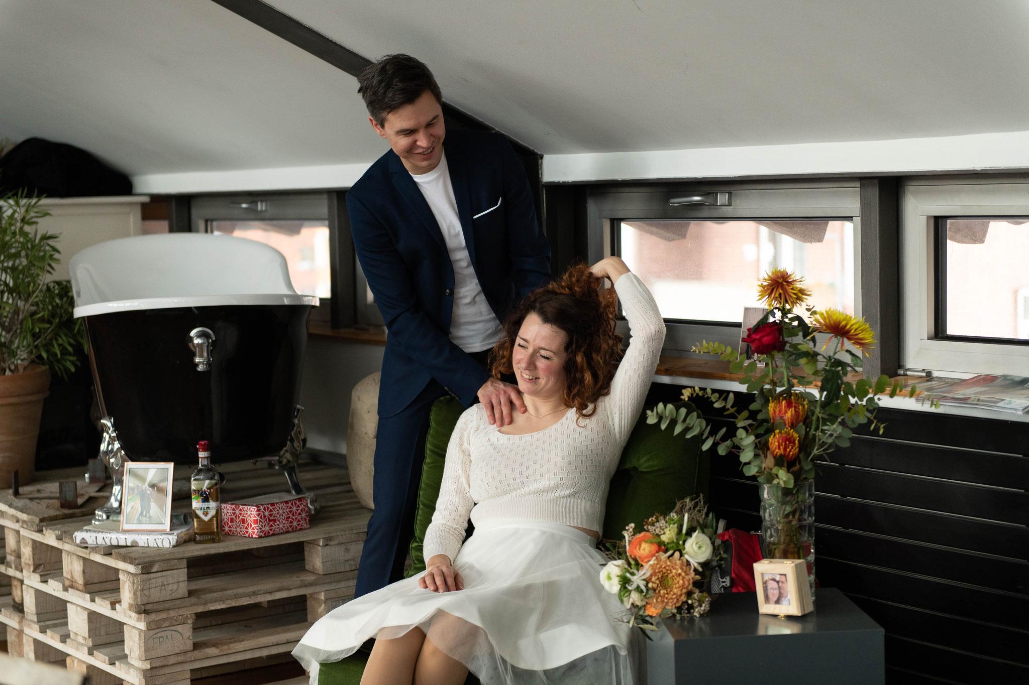 Hochzeitsfotograf im Dezember 2019