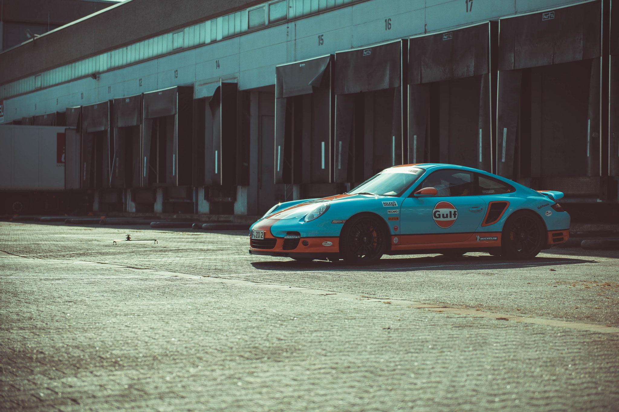 Porsche 997 Turbo mit Top Speed ist über 320 km/h
