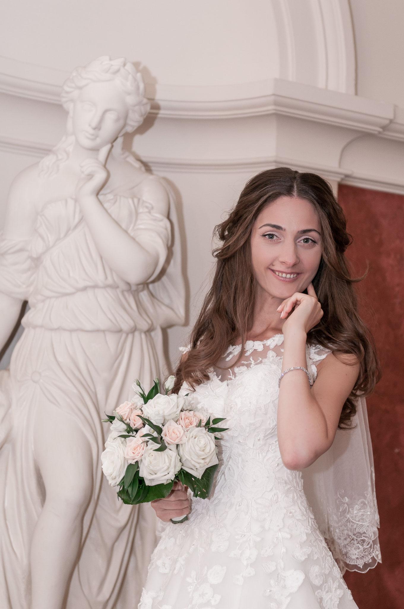 Shooting mit der Braut im Standesamt Frankfurt Höchst