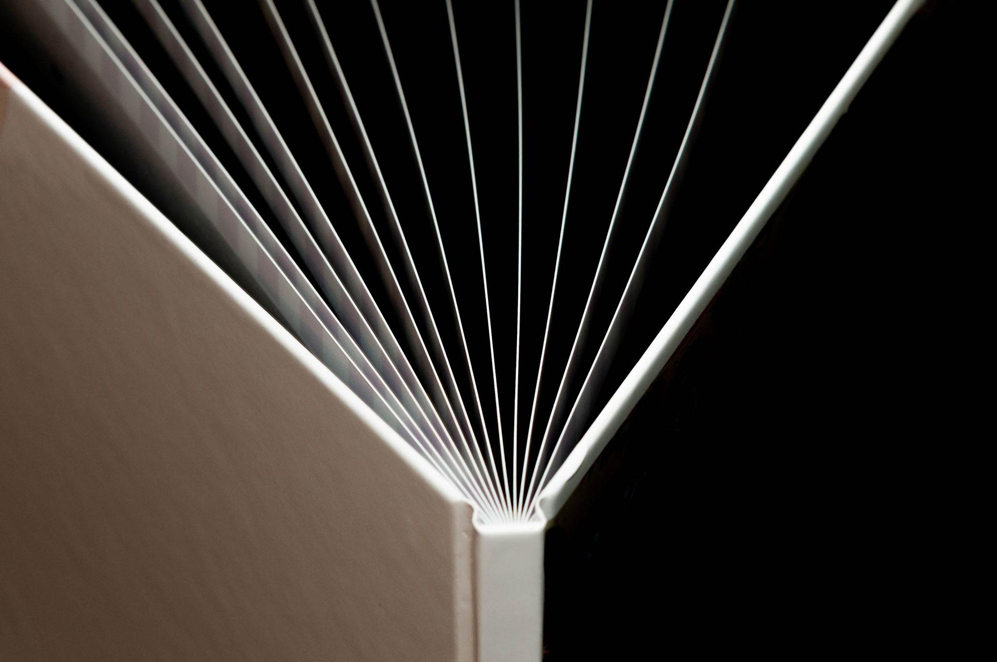 Hardcover Fotobuch mit glattem Übergang gedruckt auf hochwertigem Papier