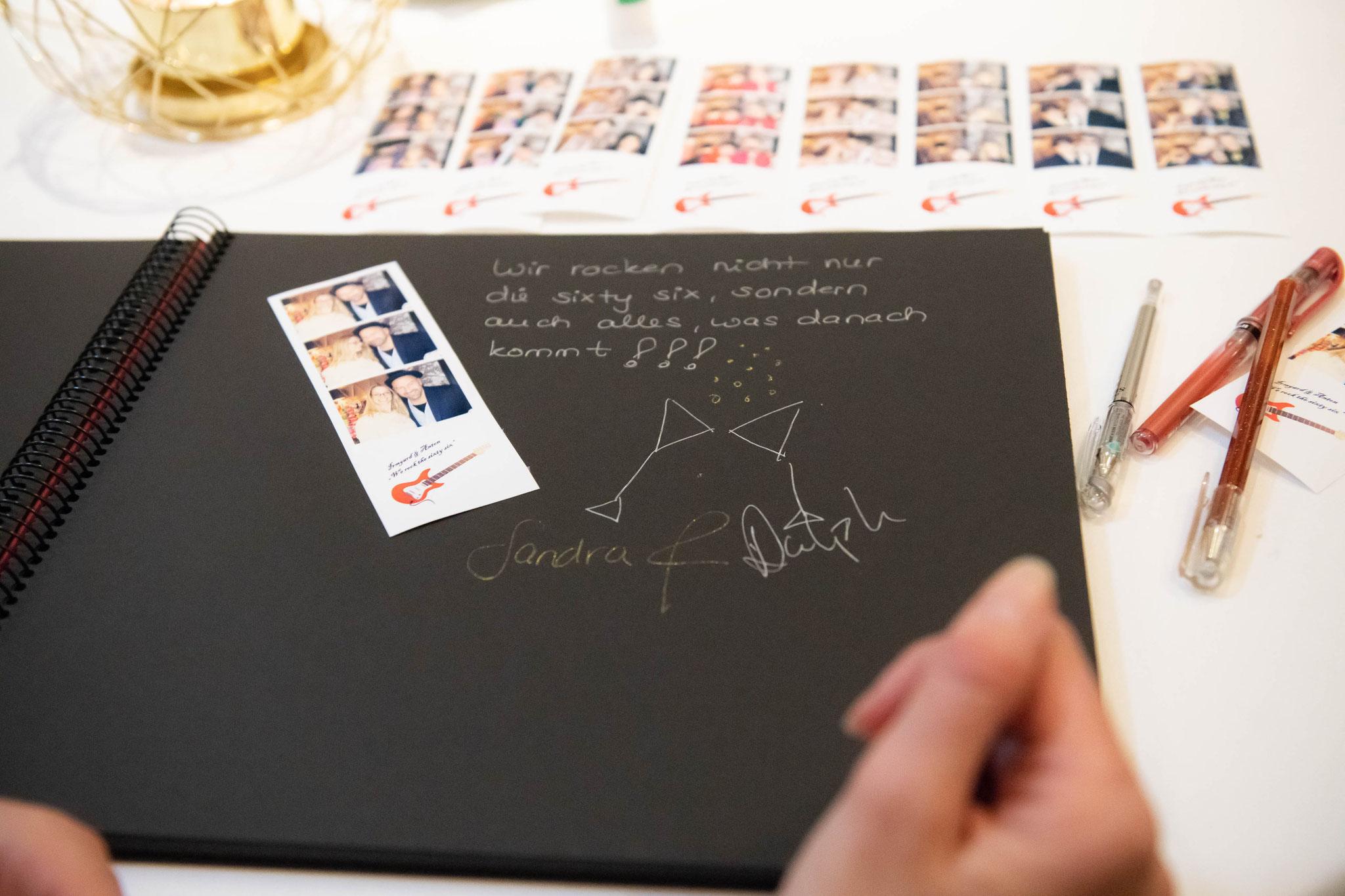 Fotobücher, Gästebücher und Abzüge für Ihre Freunde und Familienmitglieder