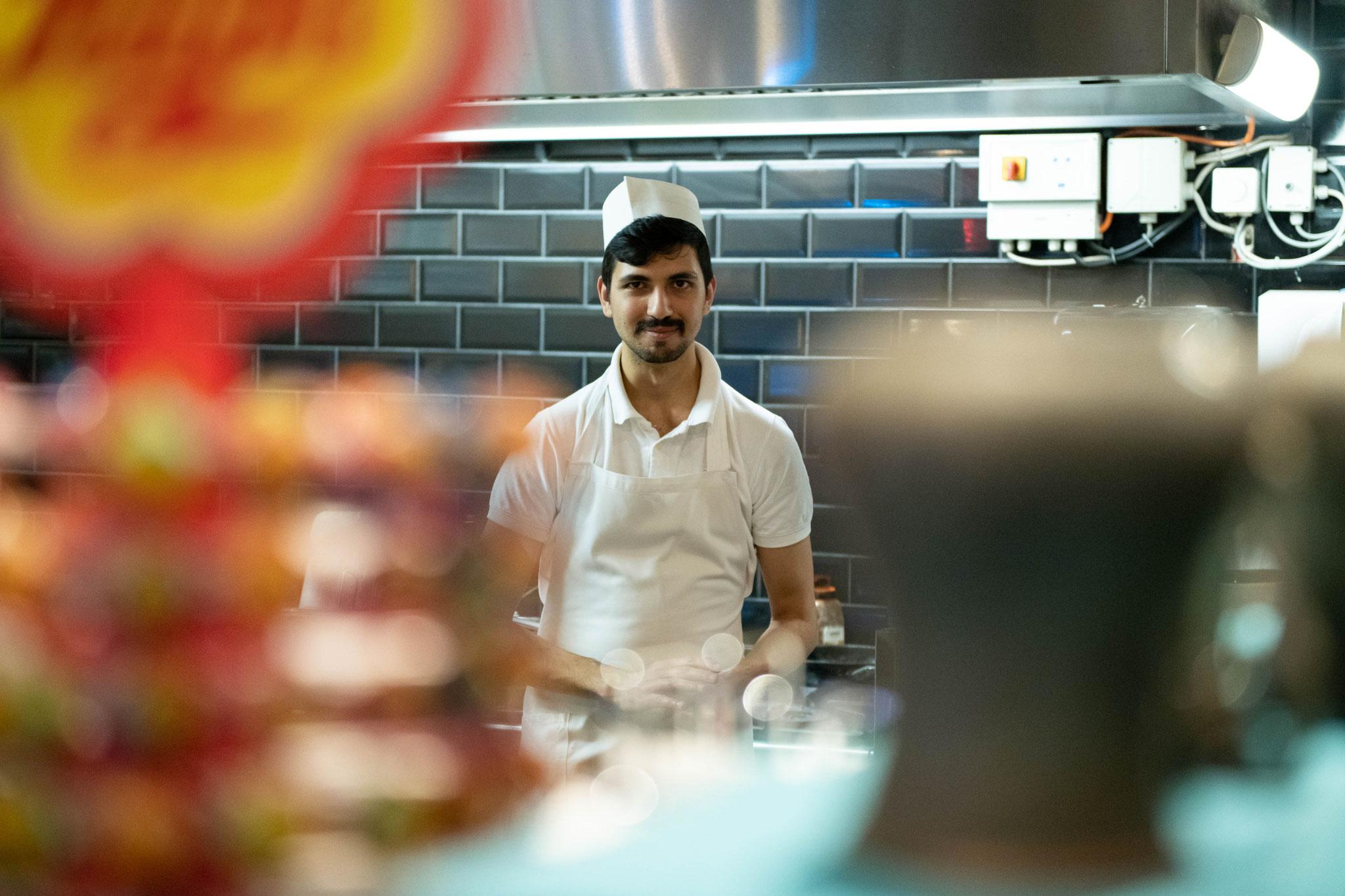 Koch im Restaurant Anatolia in Offenbach