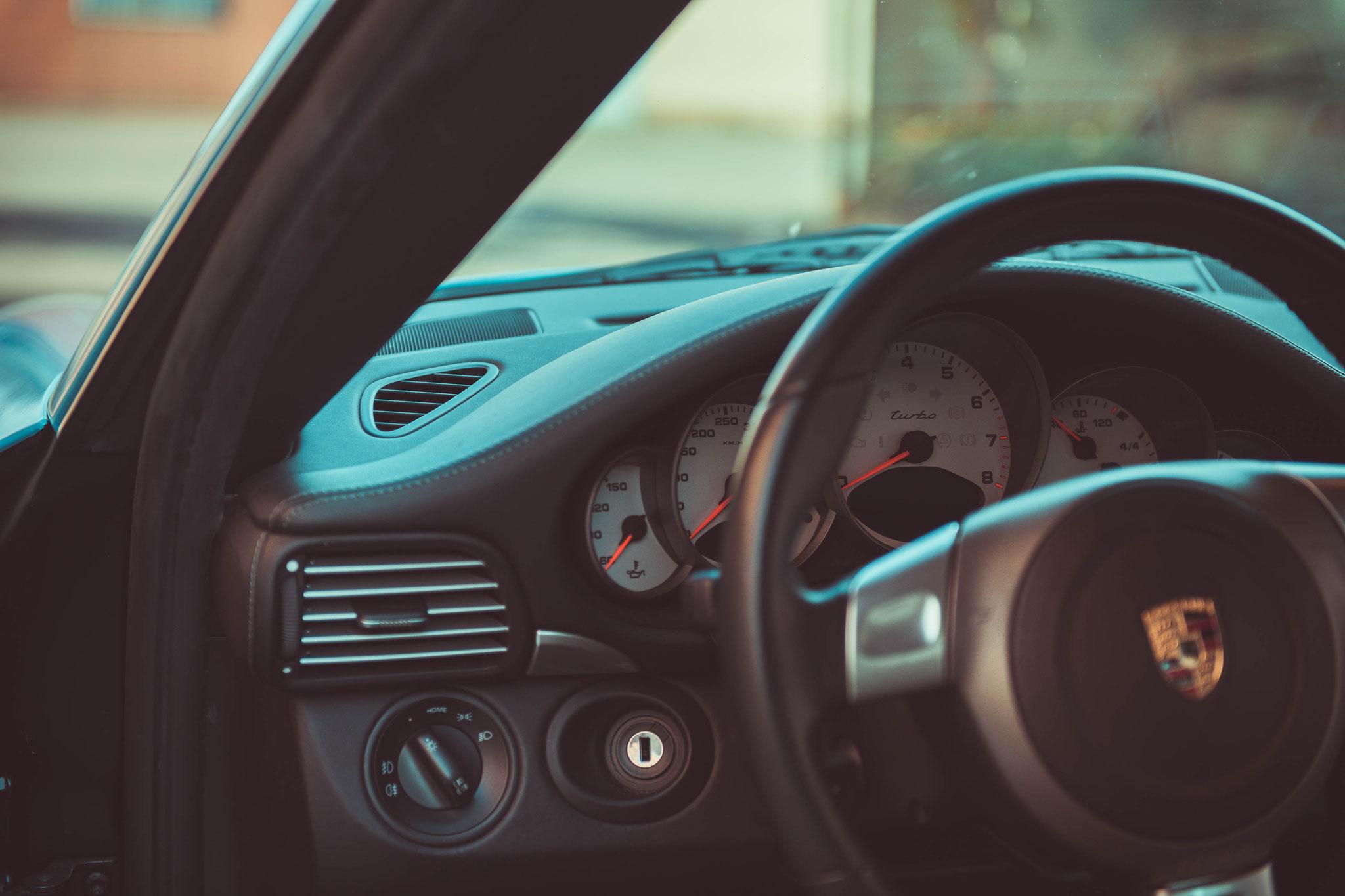Porsche 997 Turbo Innenraum