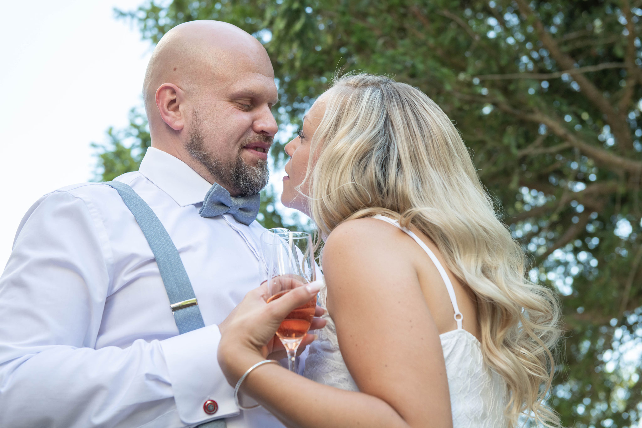 Brautpaar small talk