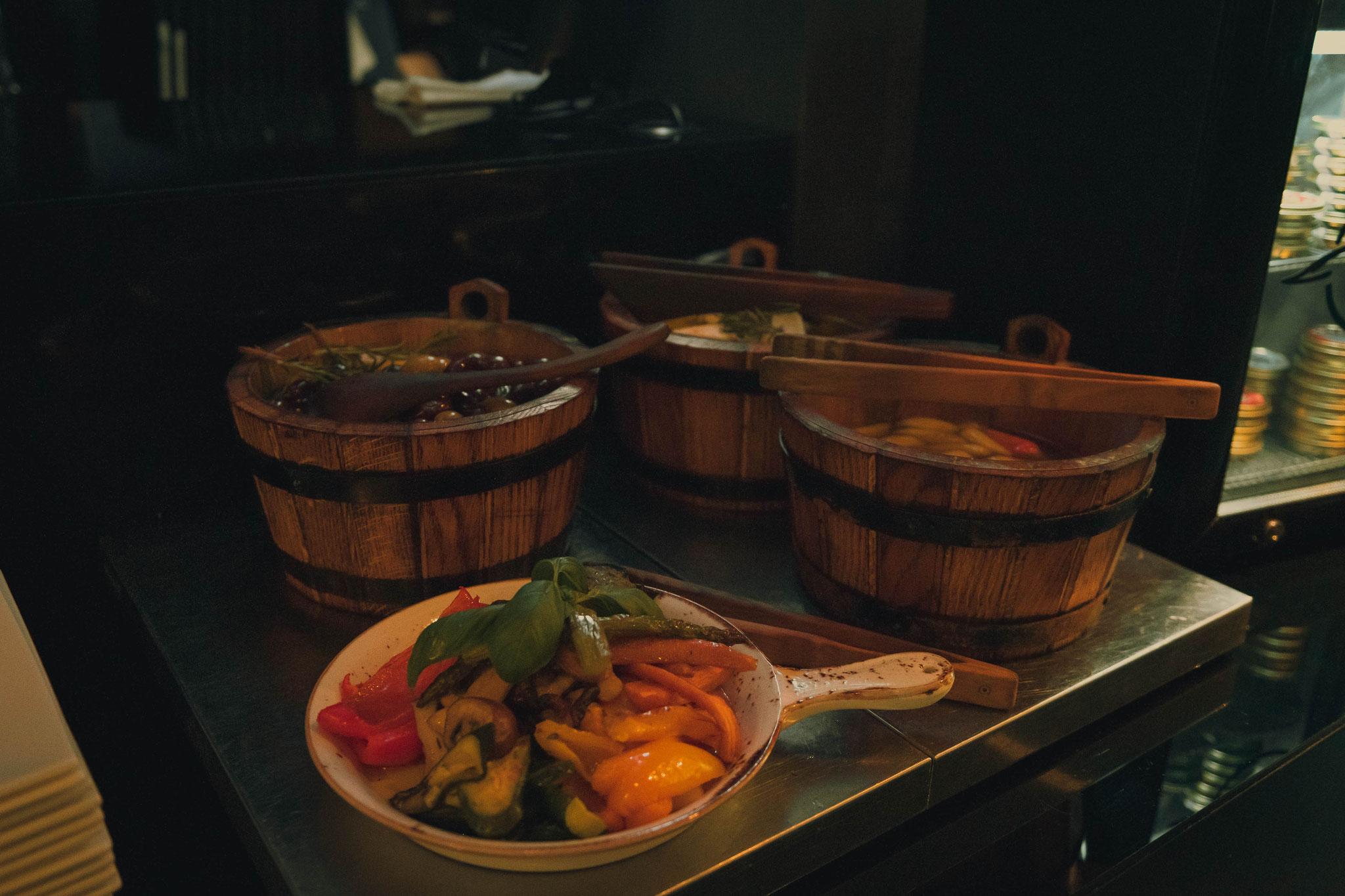 Das Essen im Roomers Hotel Frankfurt