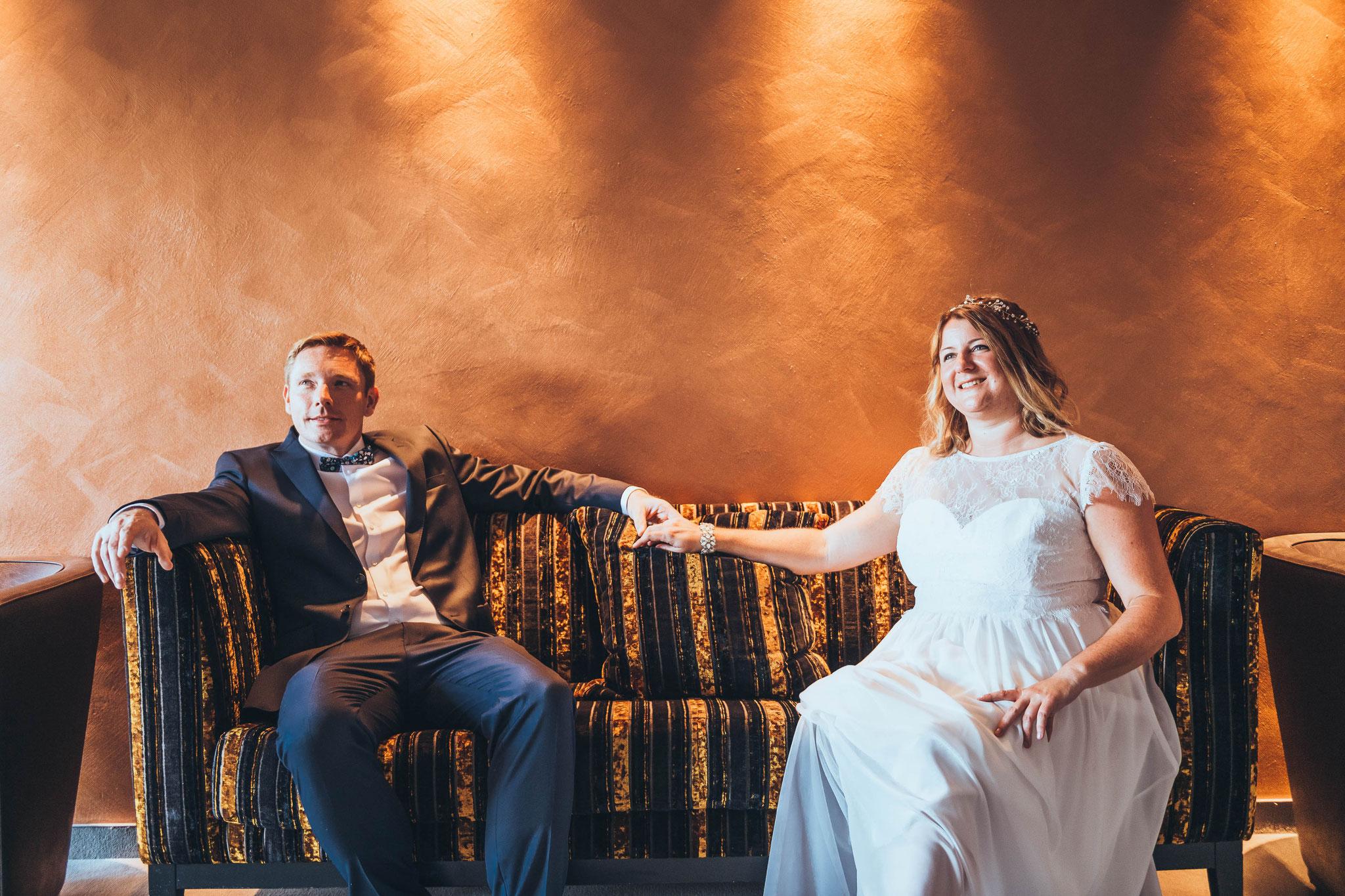 Kreative, spontane und natürlich Hochzeitsfotos in Langweiler und Deutschlandweit
