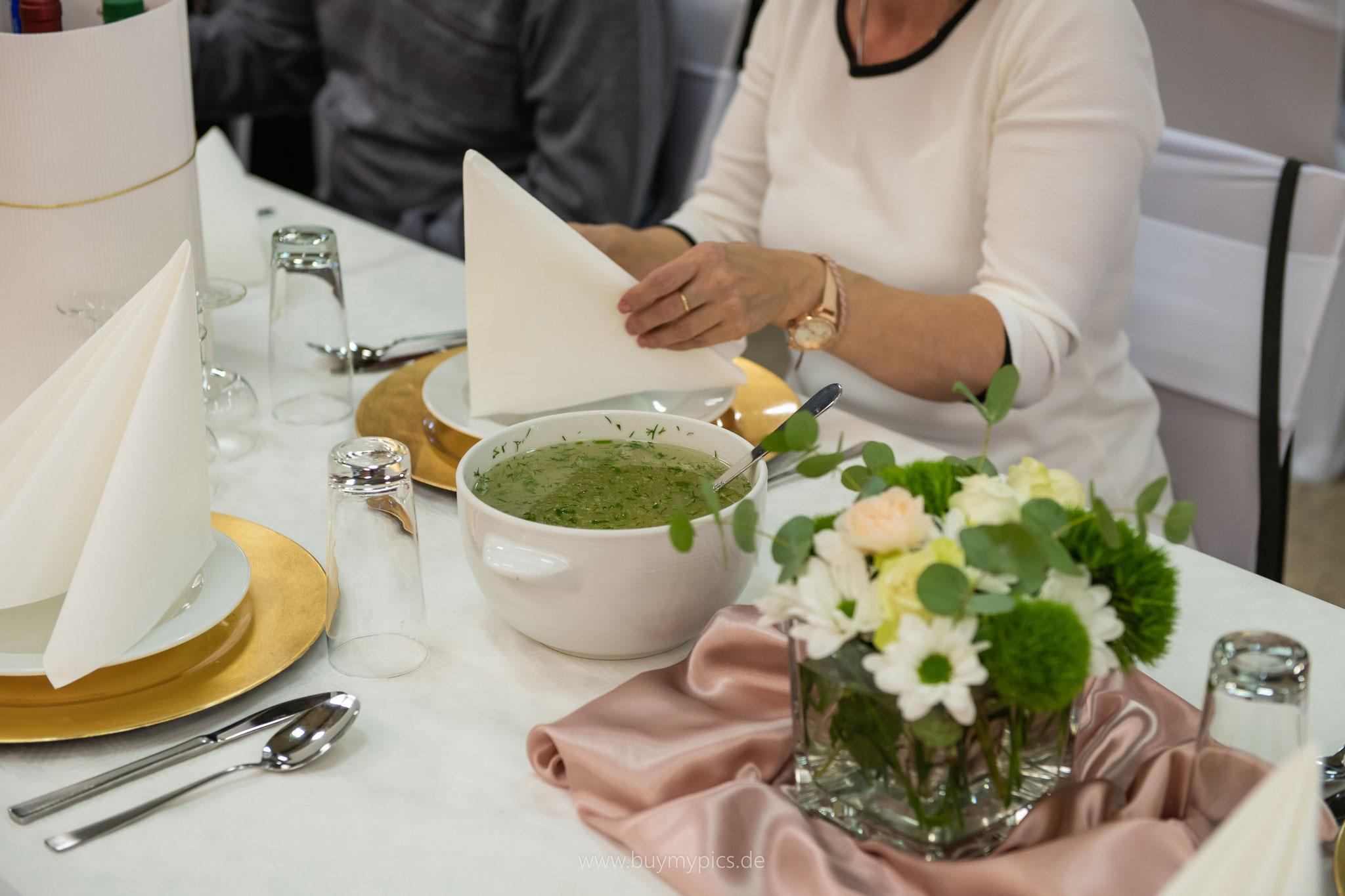 Jubiläum Suppe