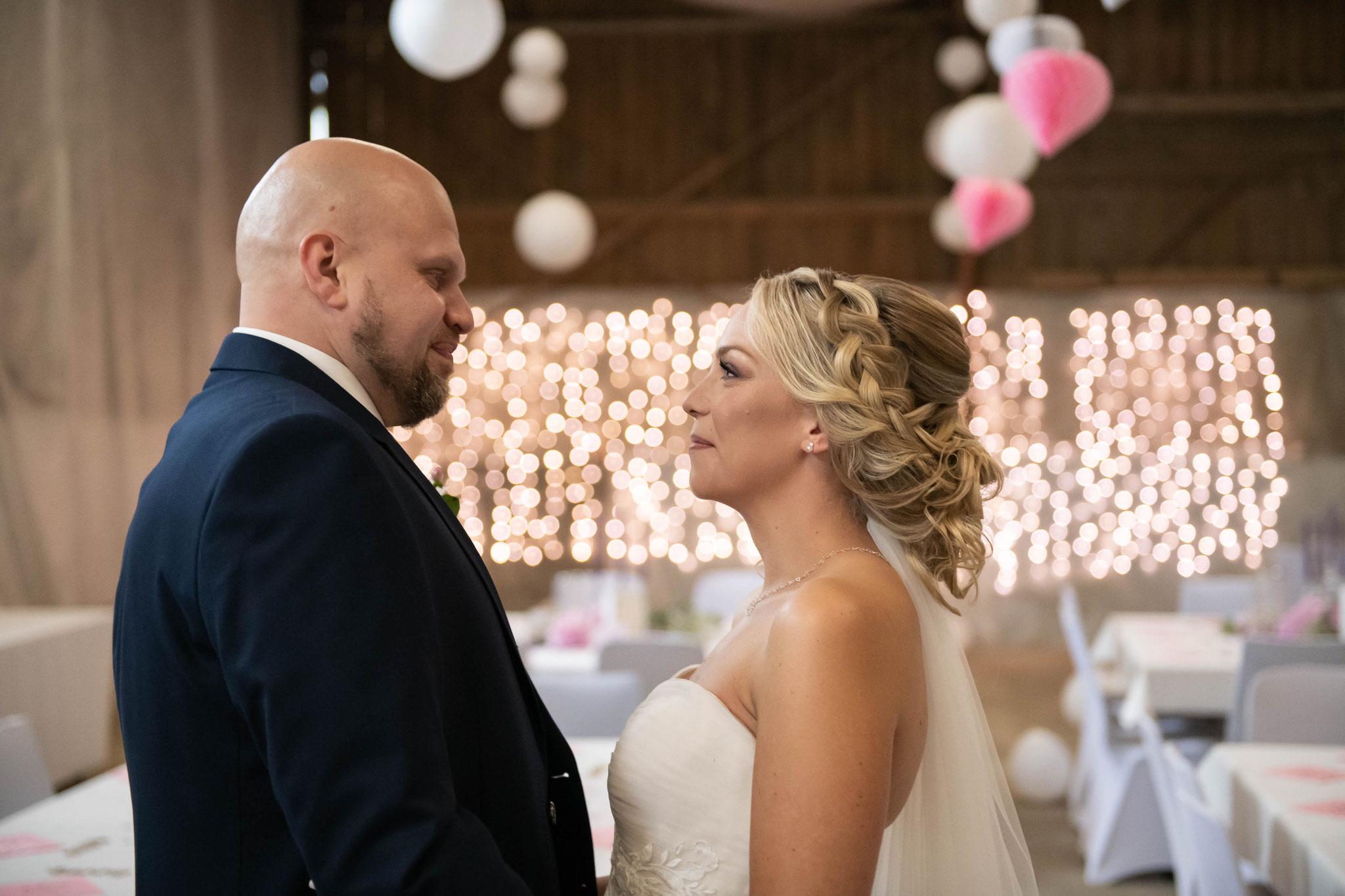Aufnahmen vom Brautpaar
