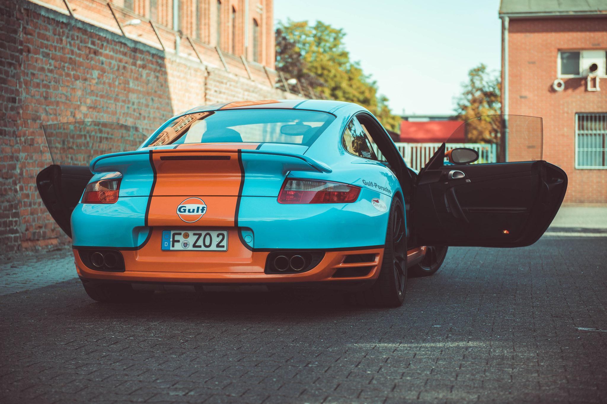 Porsche 997 Turbo von hinten